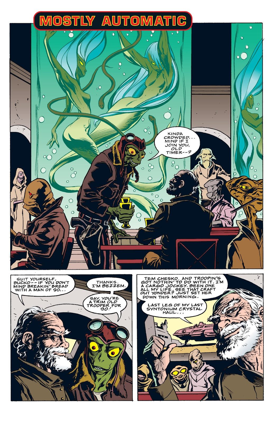 Read online Star Wars: Tales from Mos Eisley comic -  Issue # Full - 11
