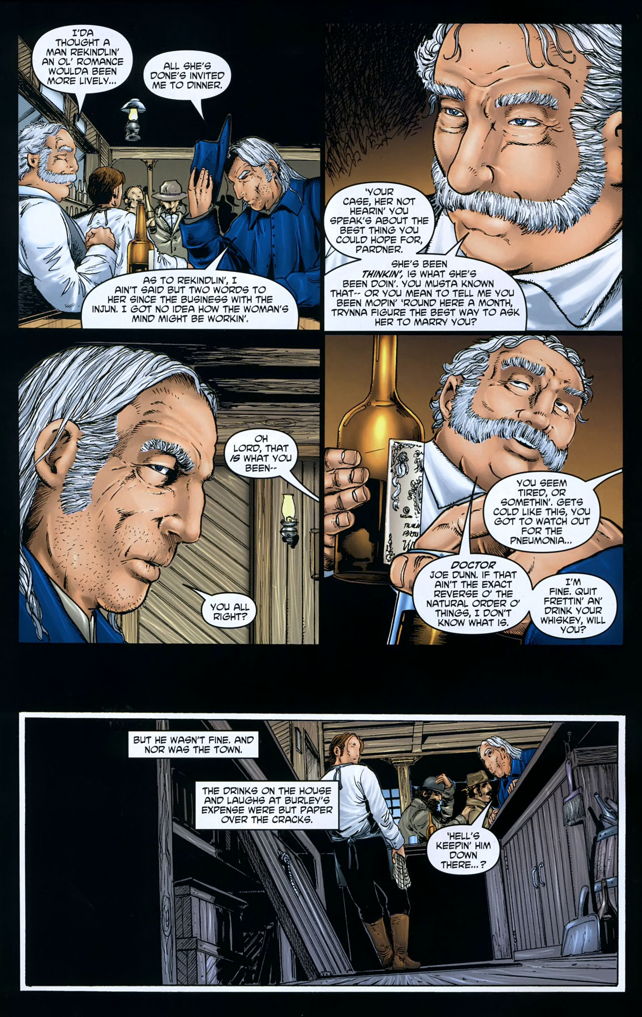 Read online Garth Ennis' Streets of Glory comic -  Issue #5 - 6