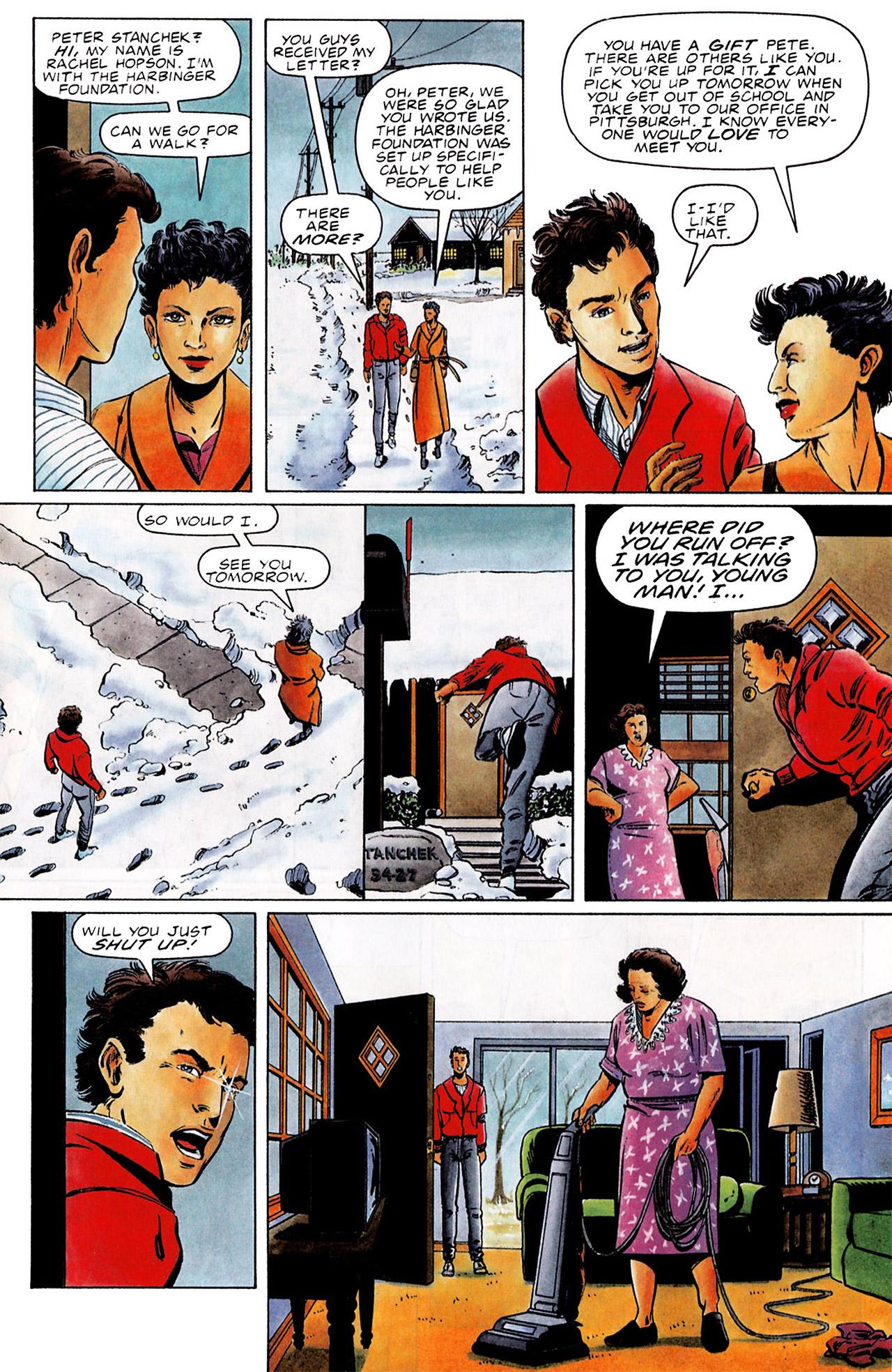 Read online Harbinger (1992) comic -  Issue #0 - 4