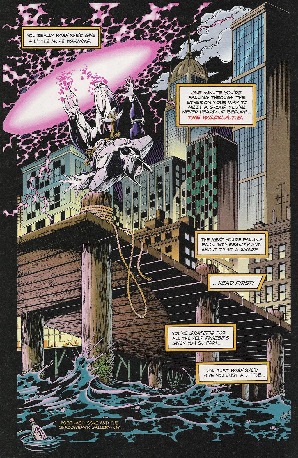 Read online ShadowHawk comic -  Issue #13 - 3