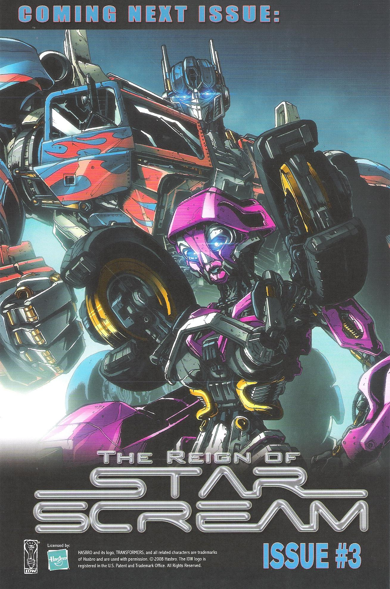 Read online Transformers: The Reign of Starscream comic -  Issue #2 - 25