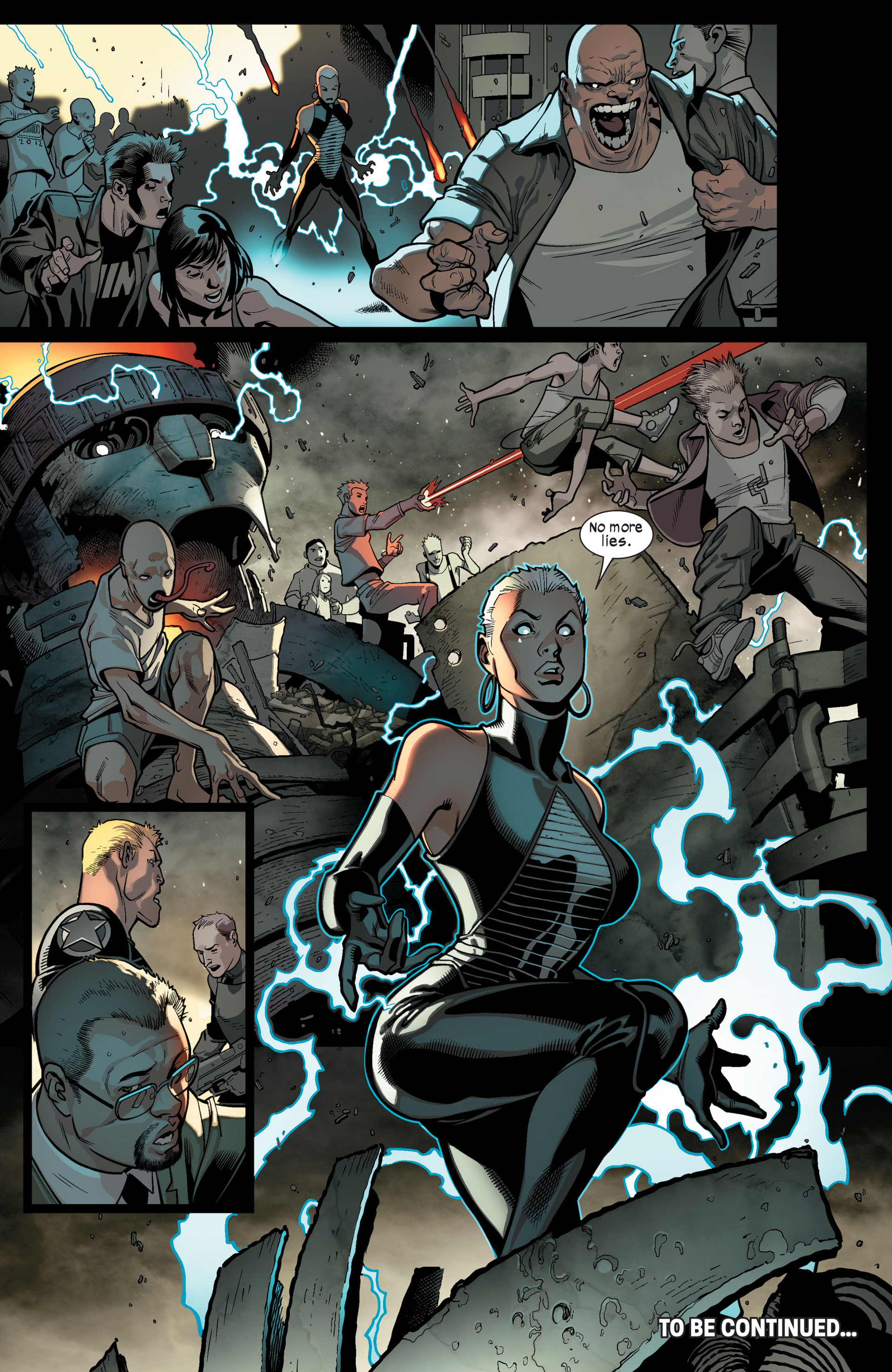 Read online Ultimate Comics X-Men comic -  Issue #9 - 19