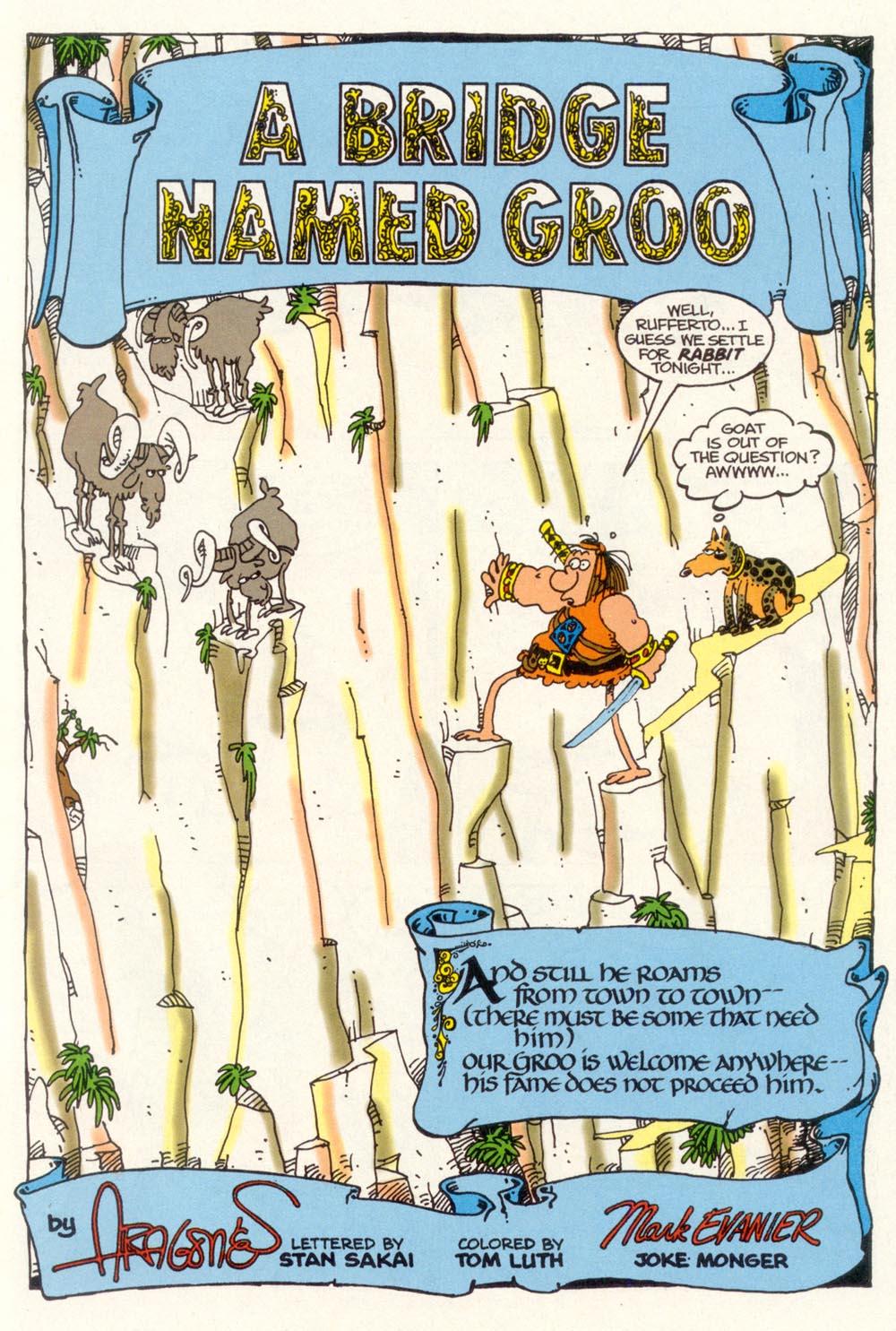 Read online Sergio Aragonés Groo the Wanderer comic -  Issue #102 - 3