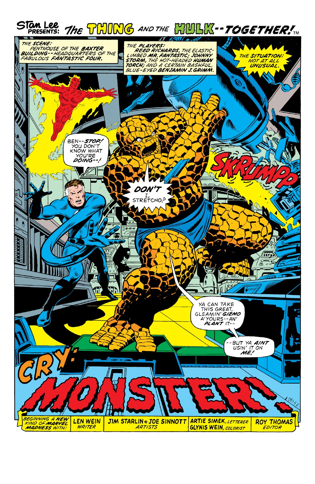 Read online Marvel Two-In-One Epic Collection: Cry Monster comic -  Issue # TPB (Part 1) - 6