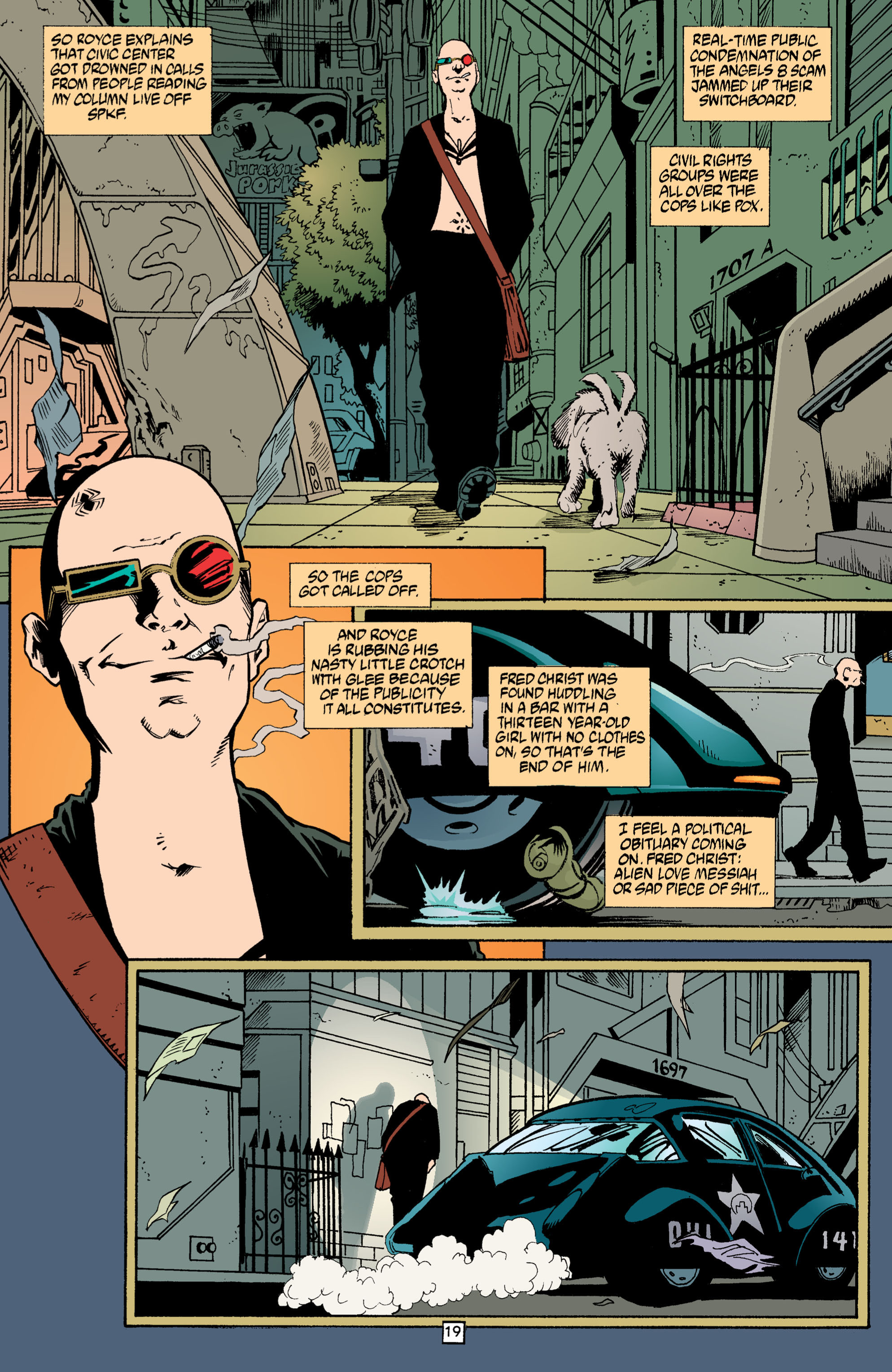 Read online Transmetropolitan comic -  Issue #3 - 19