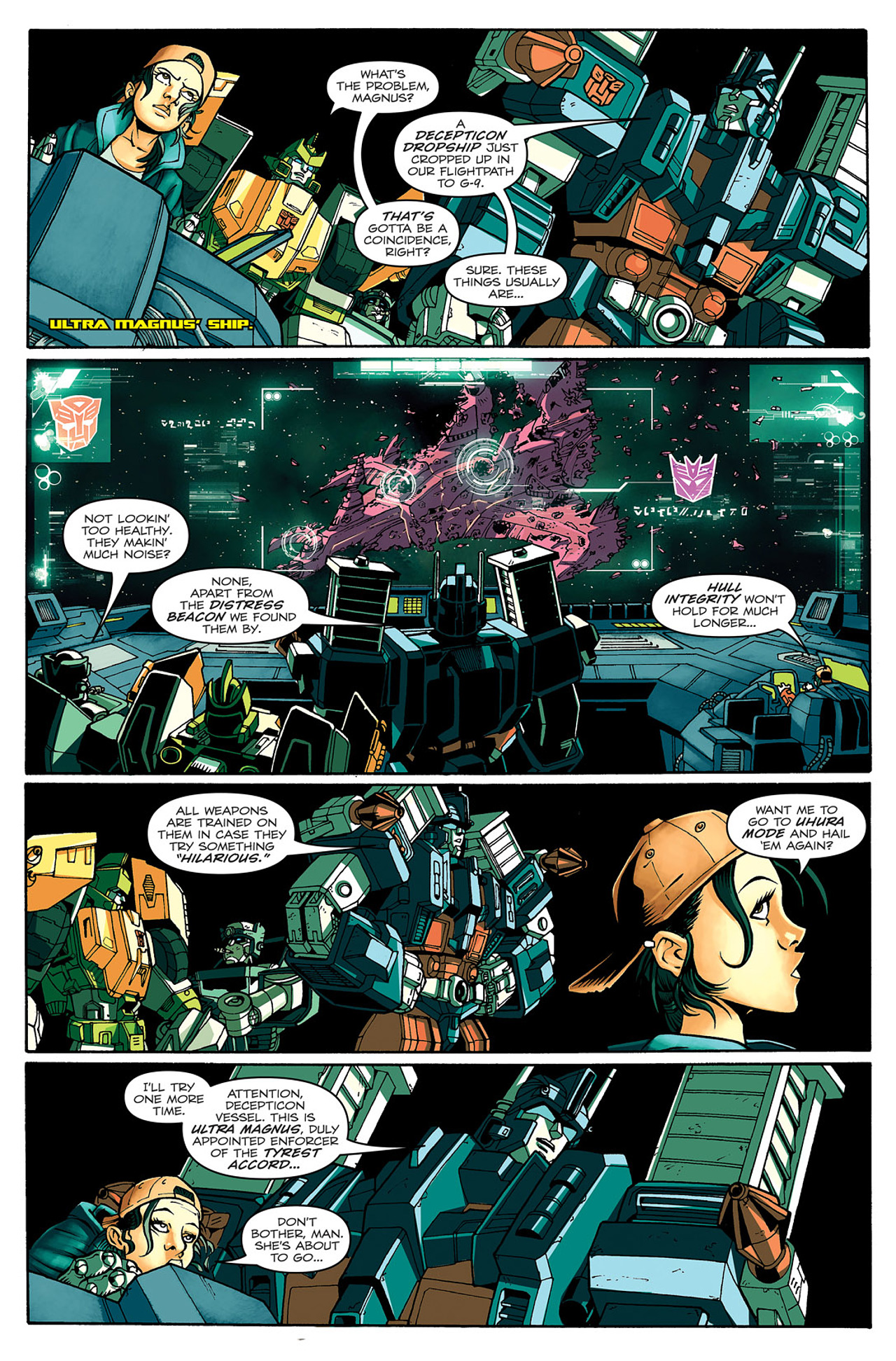 Read online Transformers: Last Stand of The Wreckers comic -  Issue #1 - 25