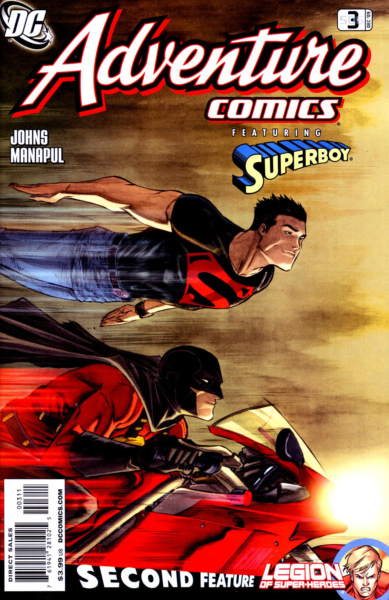 Read online Adventure Comics (2009) comic -  Issue #3 - 1