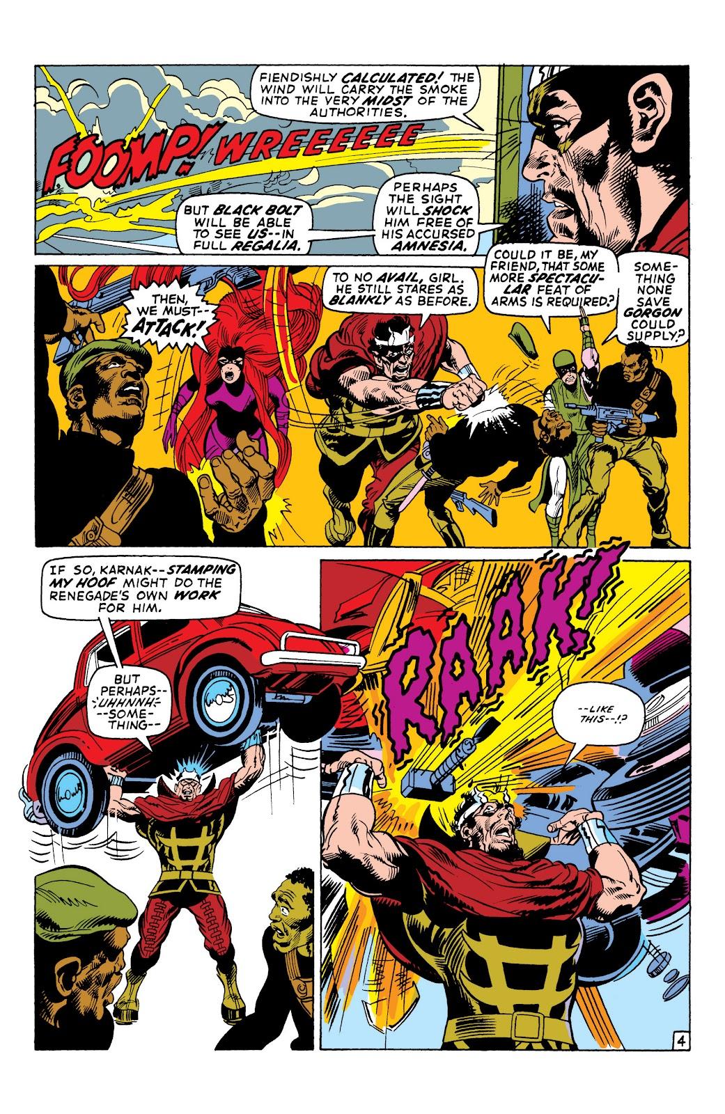 Read online Marvel Masterworks: The Inhumans comic -  Issue # TPB 1 (Part 2) - 50