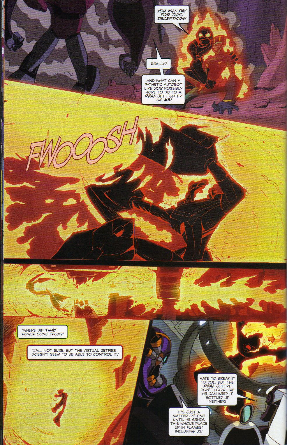 Read online Transformers Animated: The Arrival comic -  Issue #6 - 22