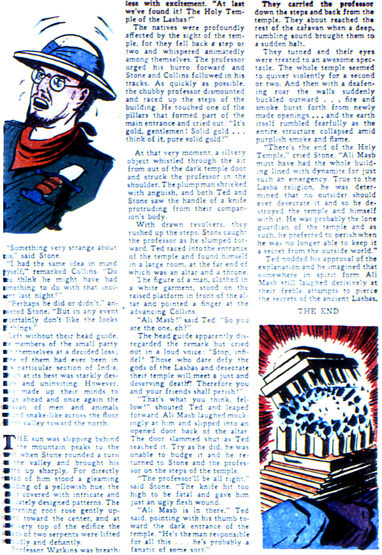 Read online Adventure Comics (1938) comic -  Issue #42 - 43