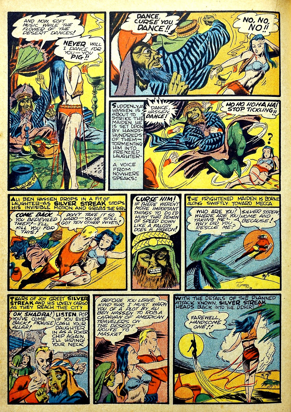 Read online Silver Streak Comics comic -  Issue #22 - 28