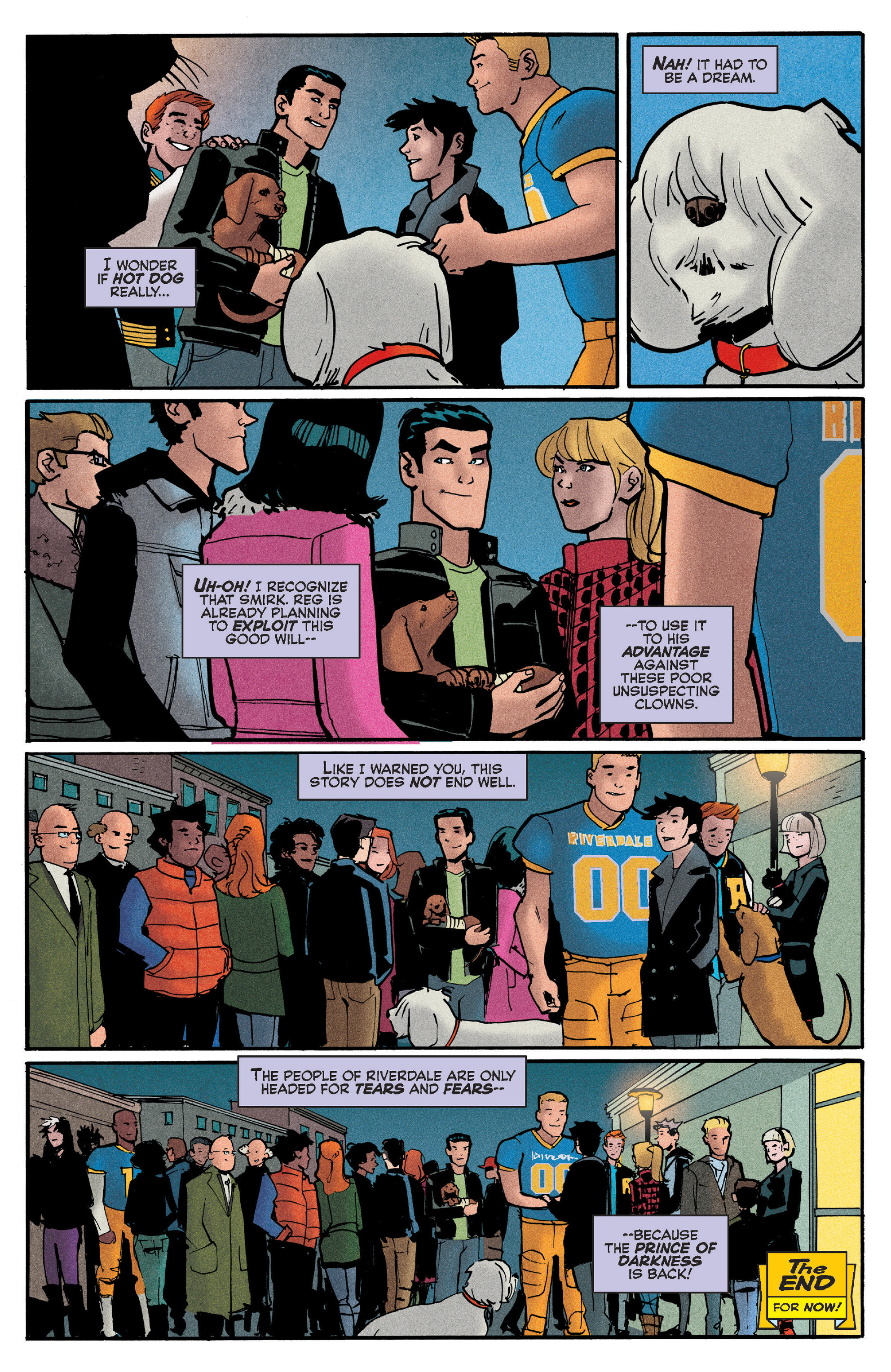 Read online Reggie and Me comic -  Issue #5 - 21