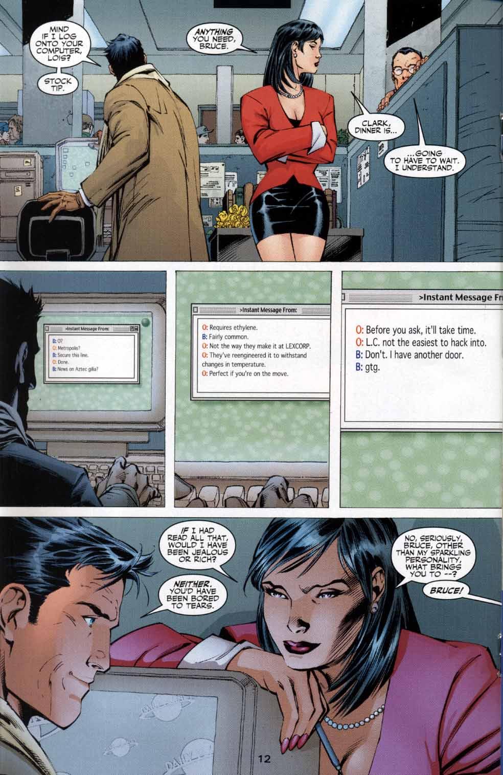 Read online Batman: Hush comic -  Issue #4 - 12
