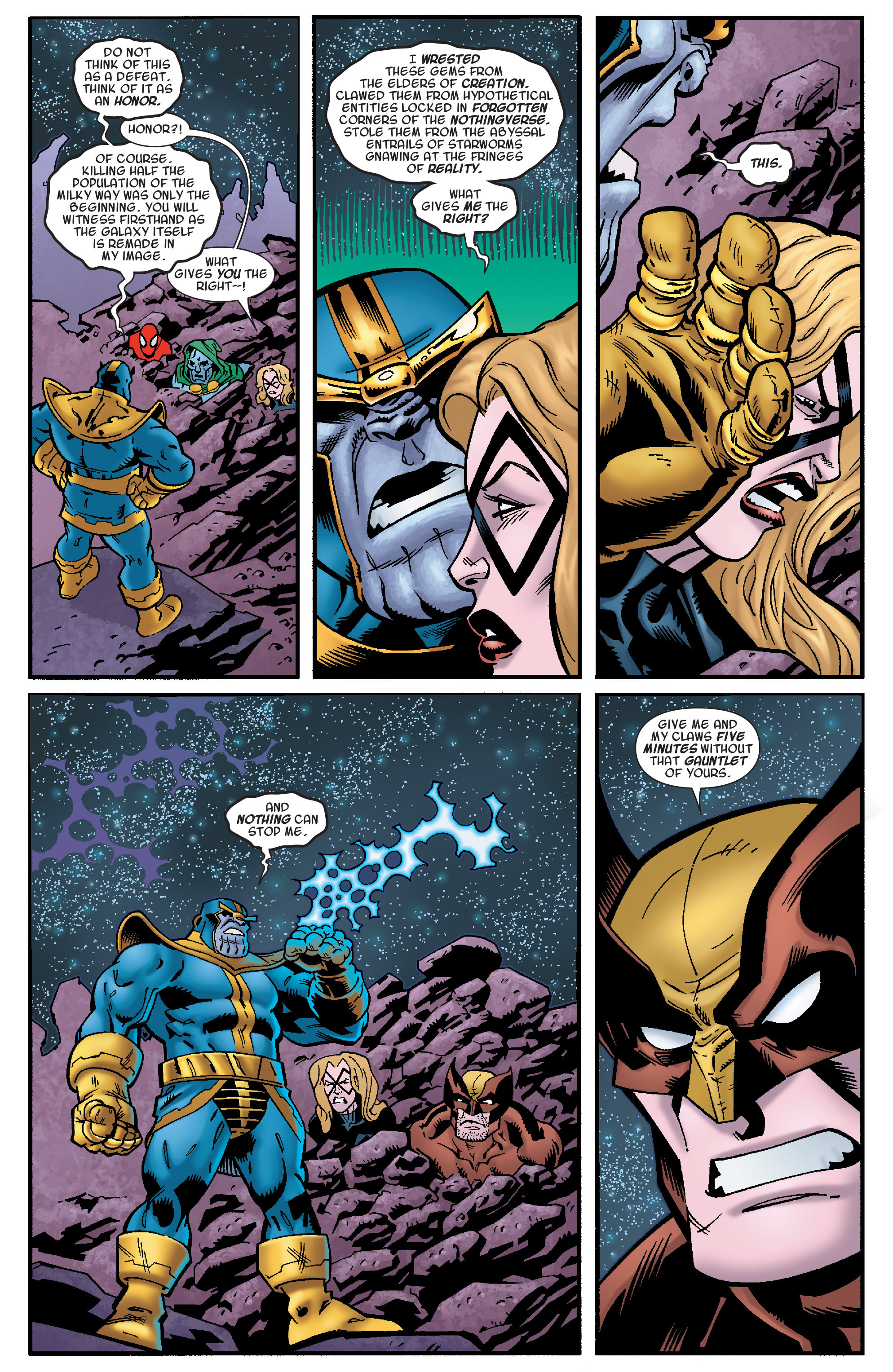 Read online Avengers & the Infinity Gauntlet comic -  Issue #4 - 4