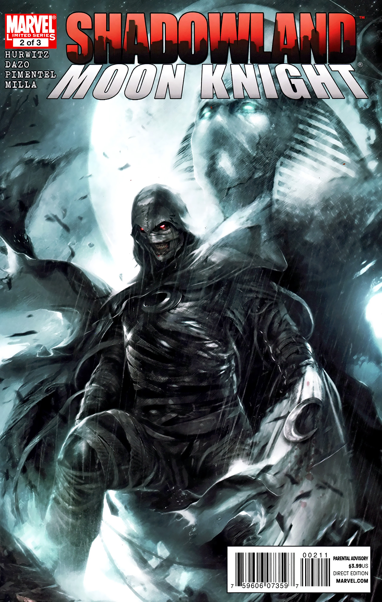 Read online Shadowland: Moon Knight comic -  Issue #2 - 1