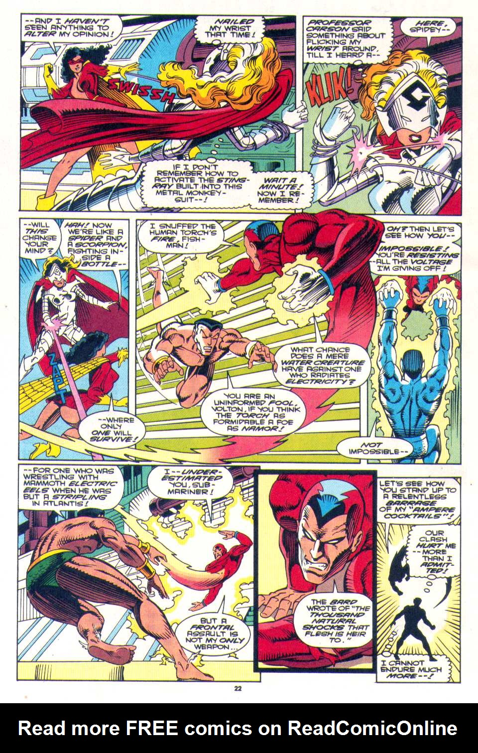 Read online The Invaders (1993) comic -  Issue #3 - 18