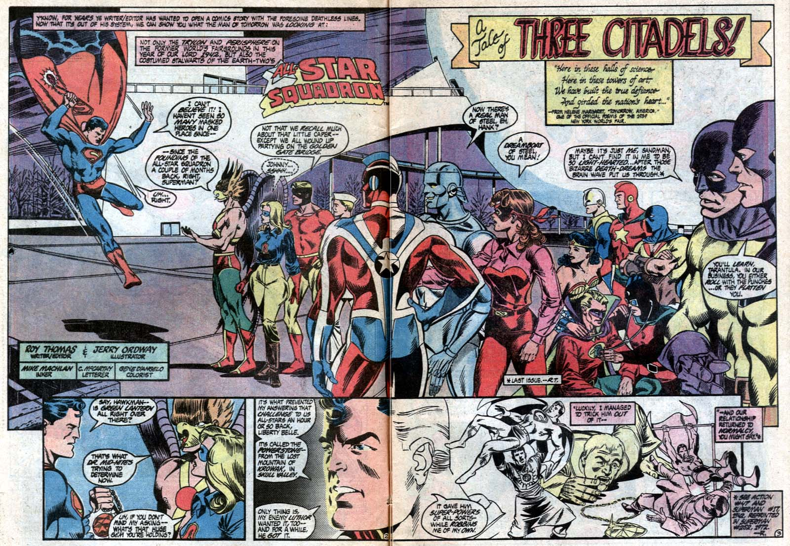Read online All-Star Squadron comic -  Issue #21 - 5