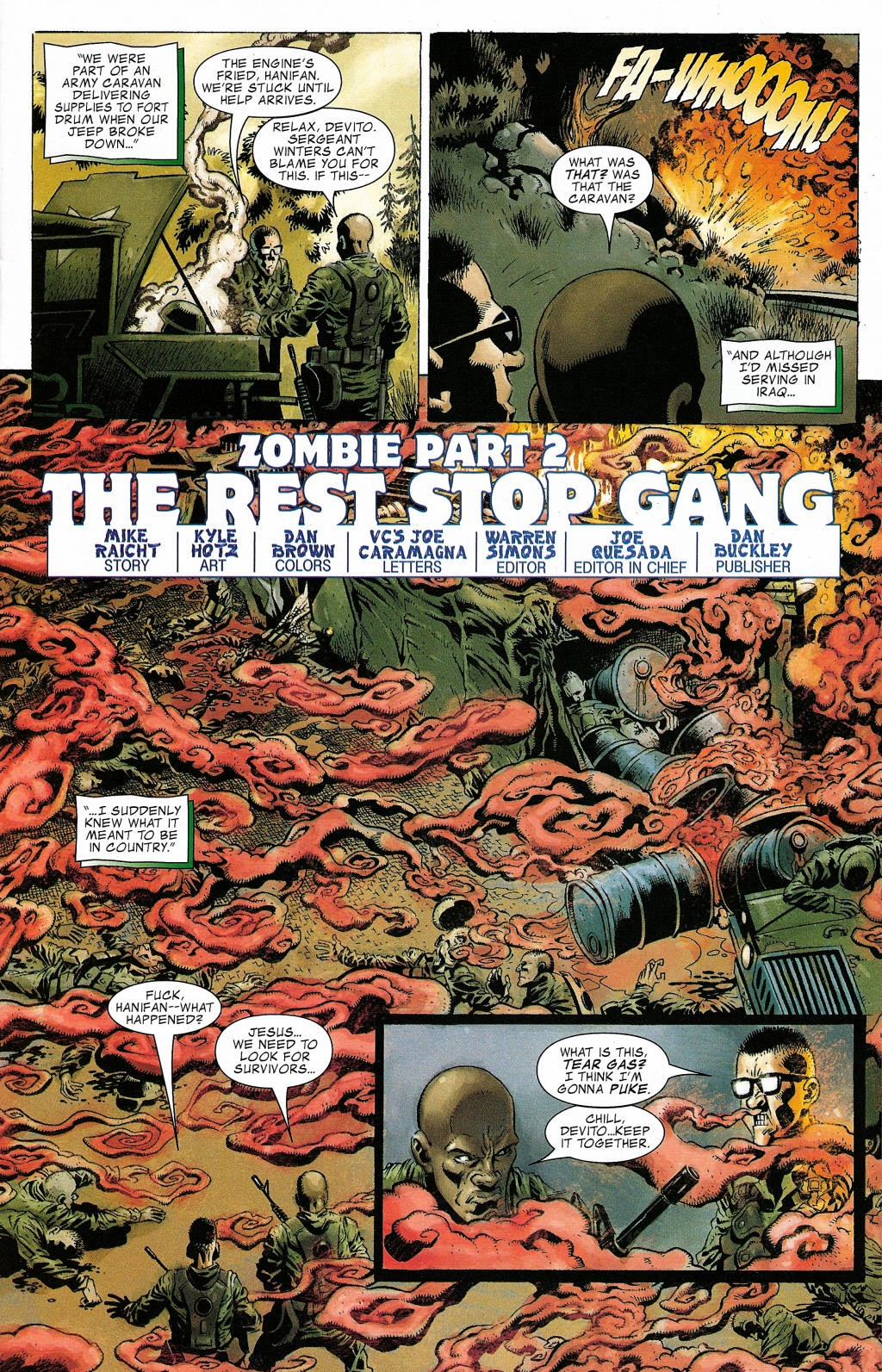 Read online Zombie (2006) comic -  Issue #2 - 2