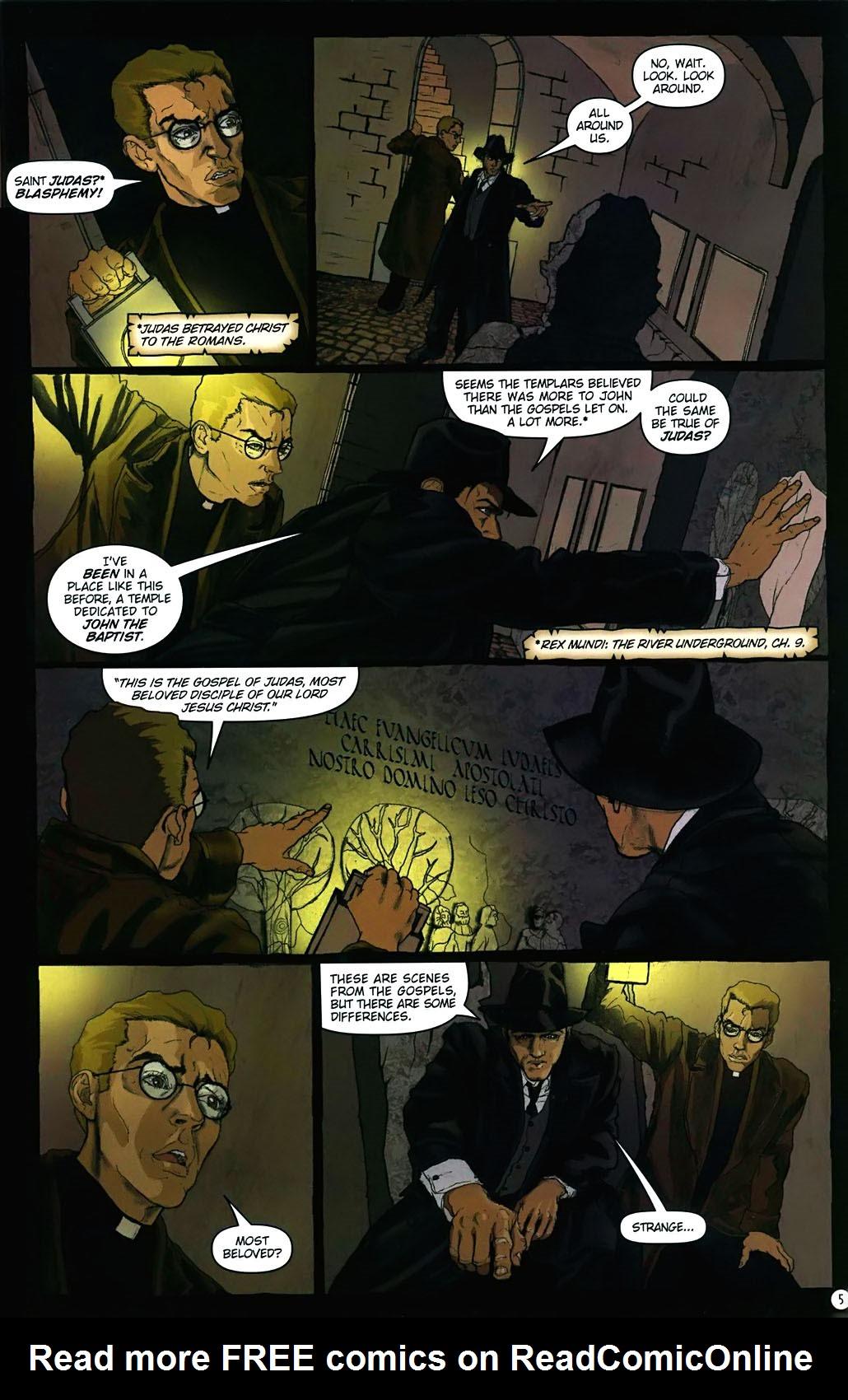 Read online Rex Mundi comic -  Issue #15 - 9