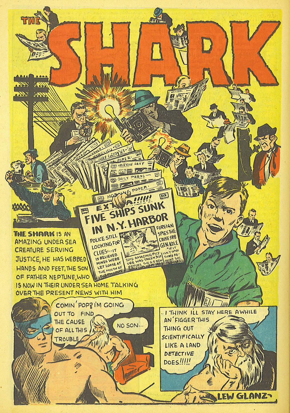 Read online Amazing Man Comics comic -  Issue #19 - 44