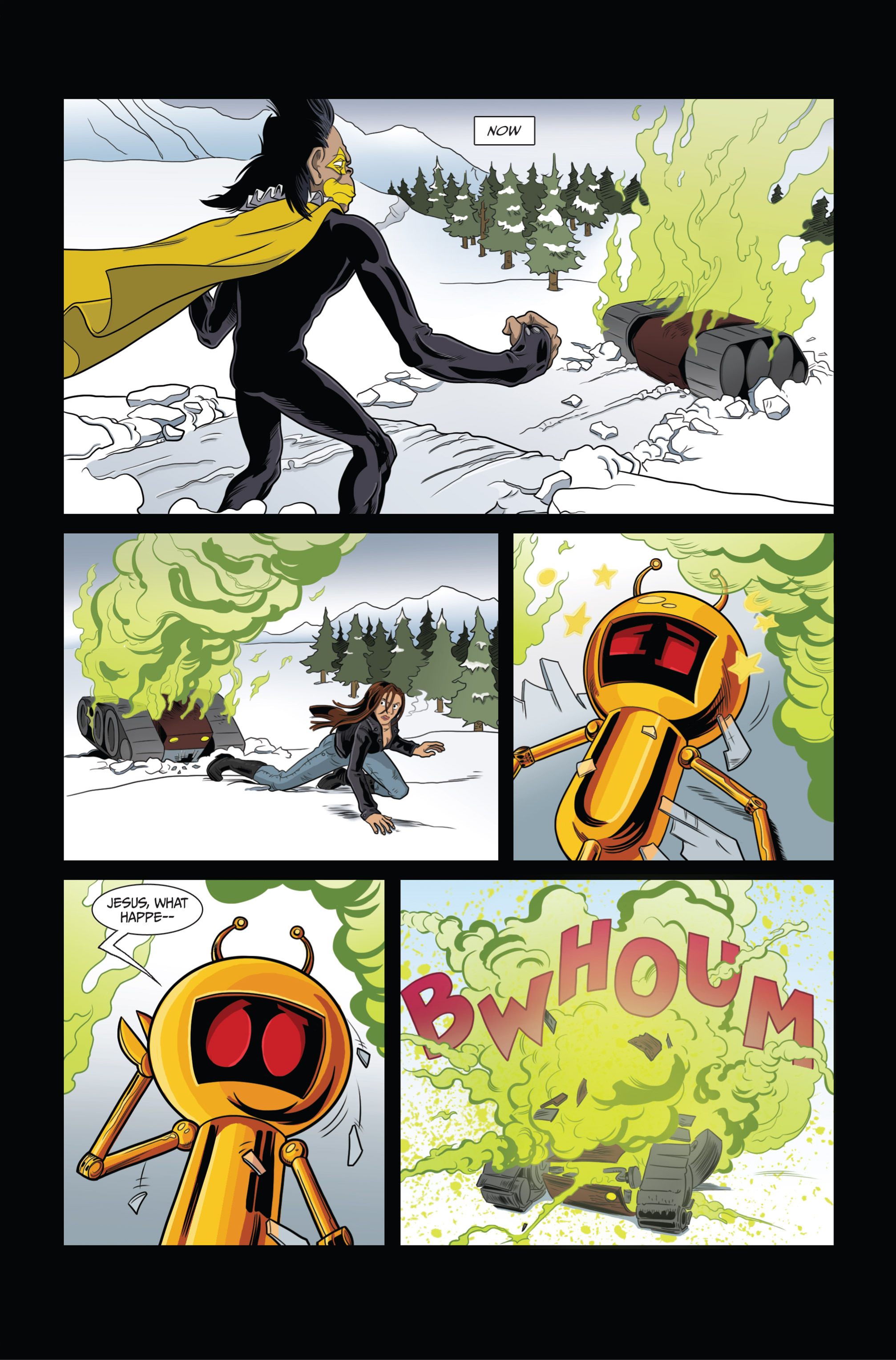 Read online Ehmm Theory: Everything & Small Doses comic -  Issue #3 - 6