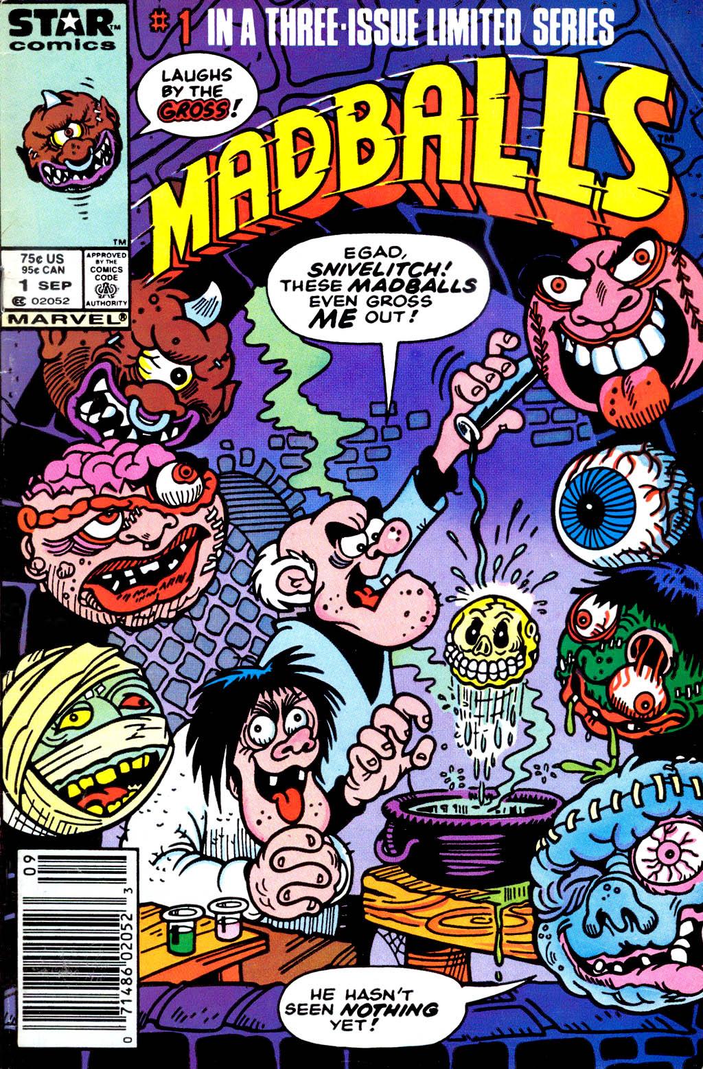 Madballs issue 1 - Page 1