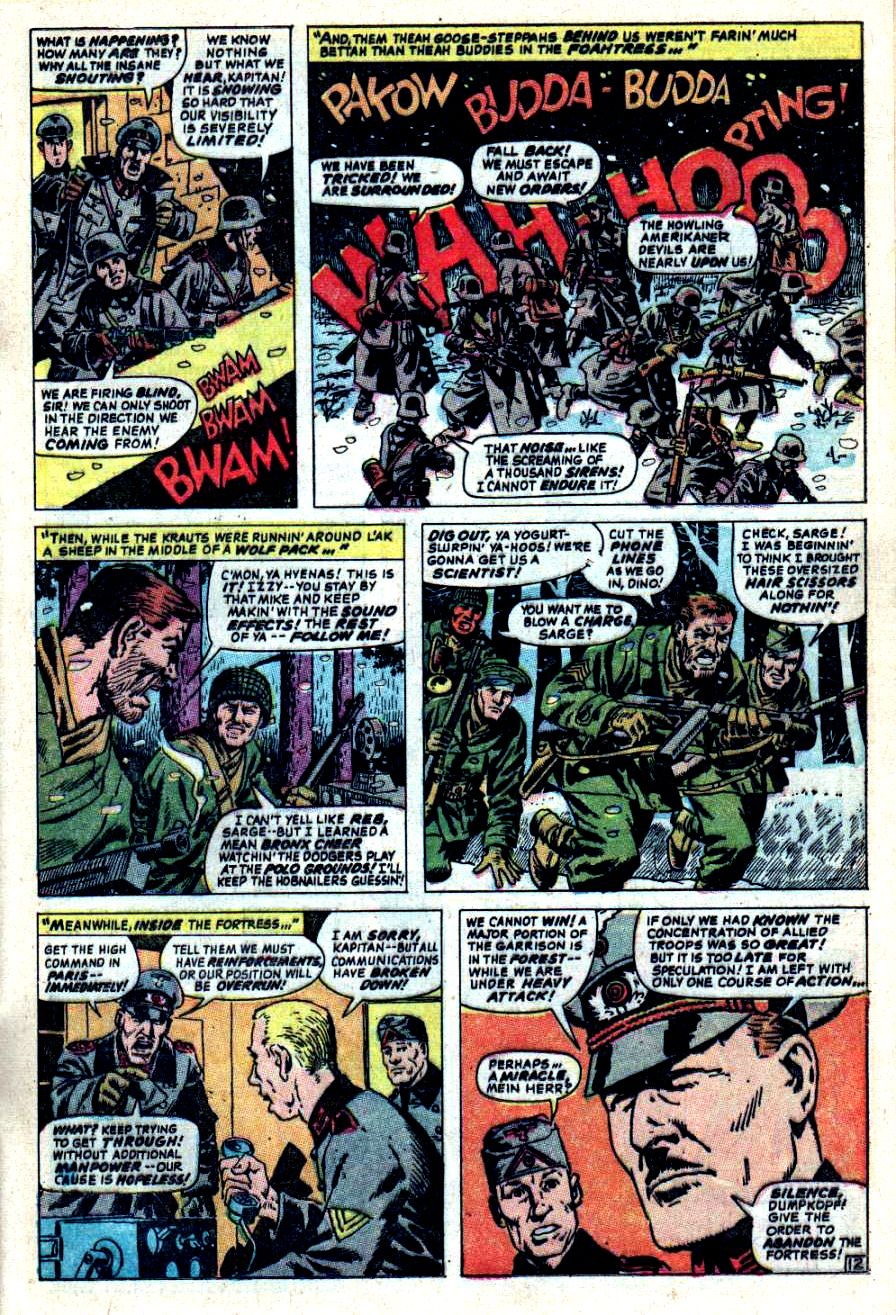 Read online Sgt. Fury comic -  Issue #44 - 17