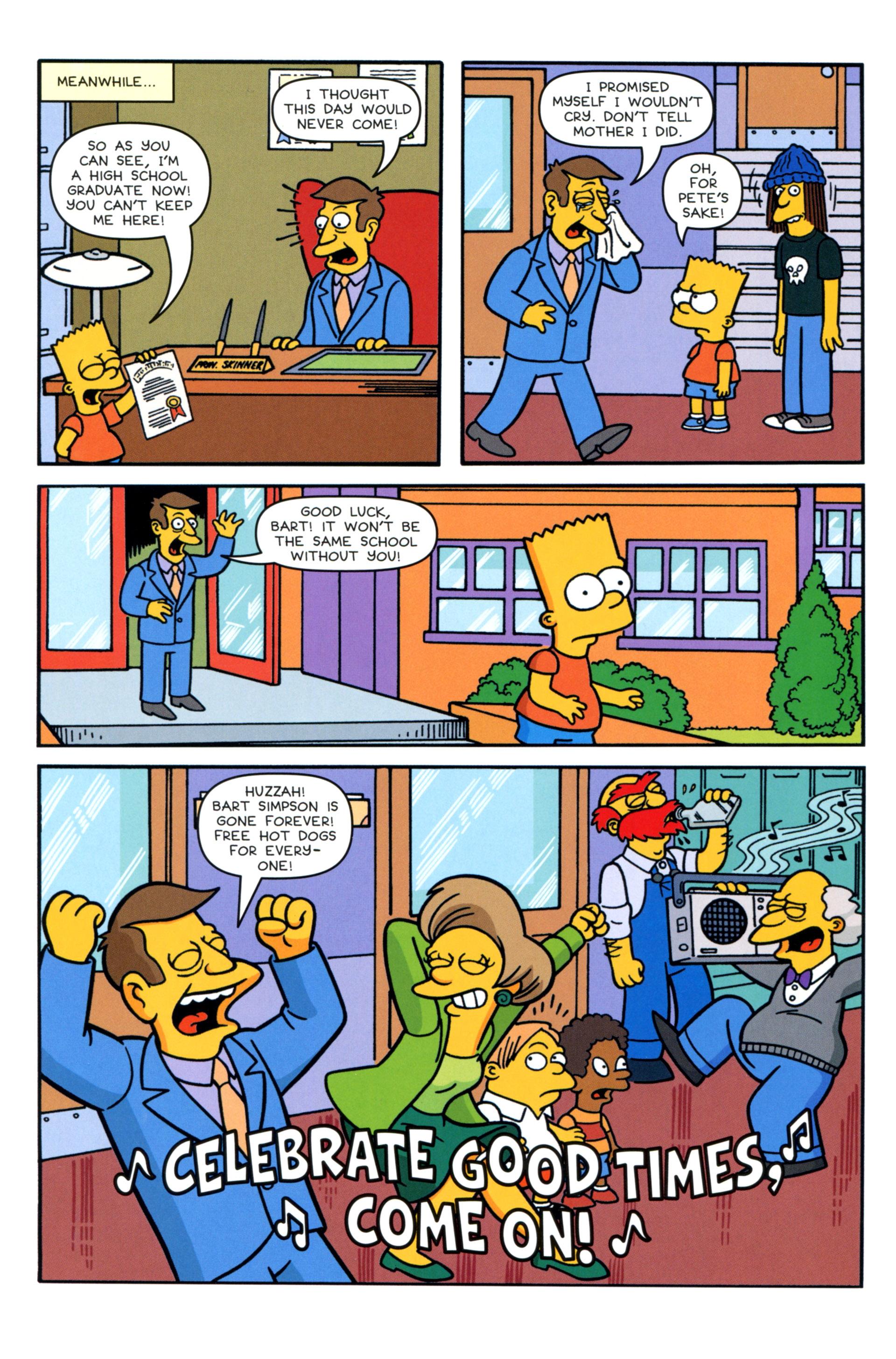 Read online Simpsons Comics comic -  Issue #202 - 9