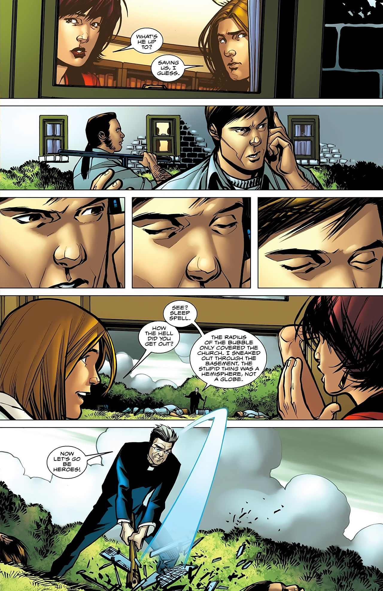 Read online Magus comic -  Issue #5 - 11