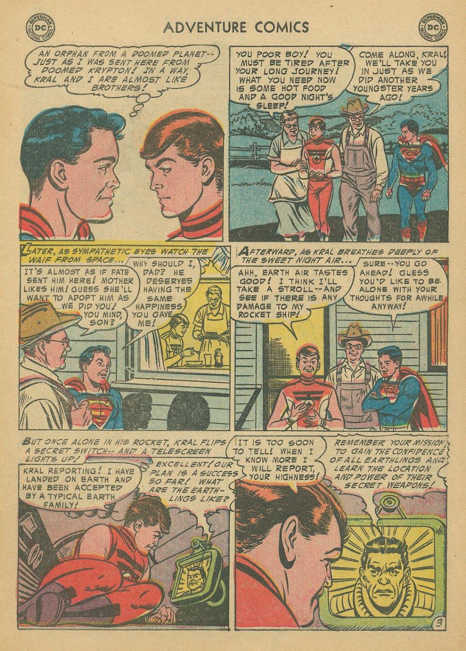 Read online Adventure Comics (1938) comic -  Issue #205 - 6
