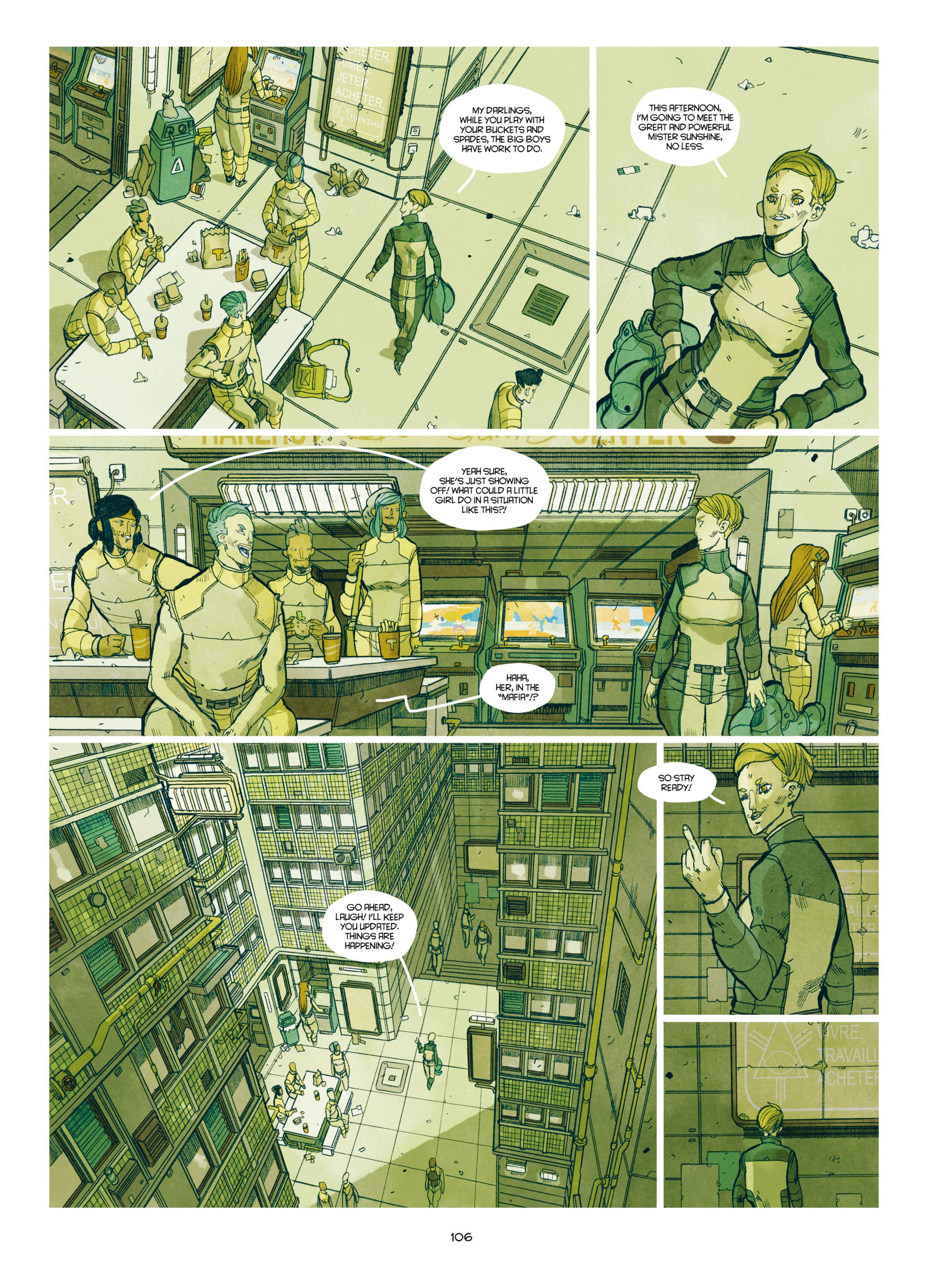 Read online Shangri-La comic -  Issue # Full - 107
