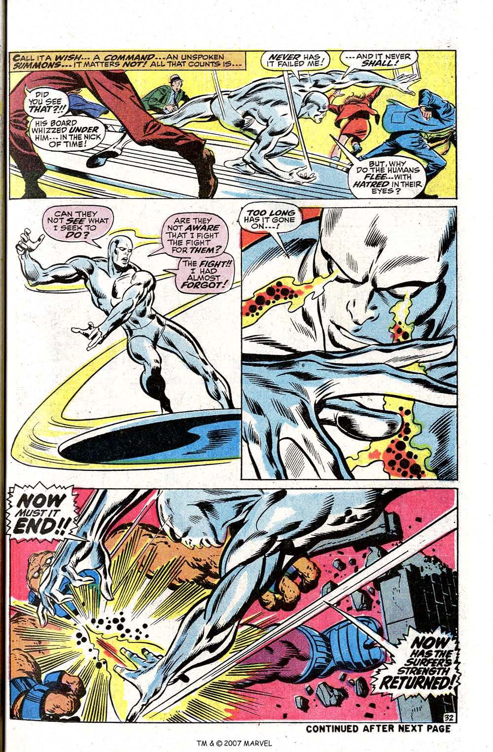 Read online Silver Surfer (1968) comic -  Issue #2 - 41