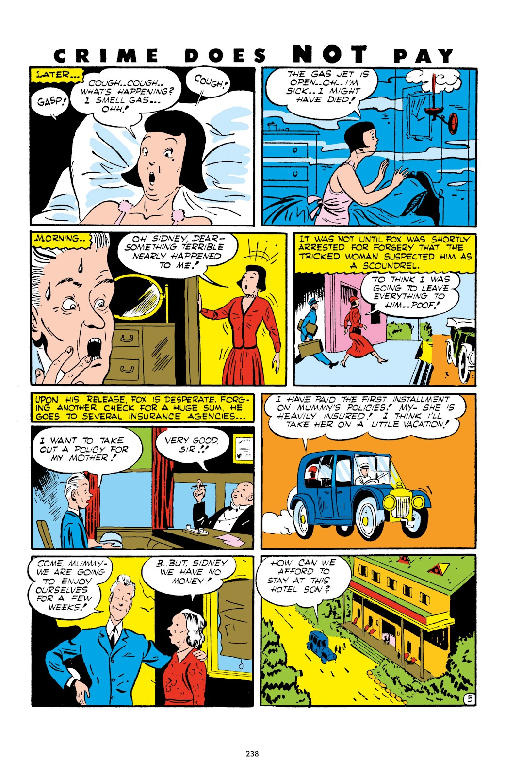 Read online Crime Does Not Pay Archives comic -  Issue # TPB 1 (Part 3) - 41