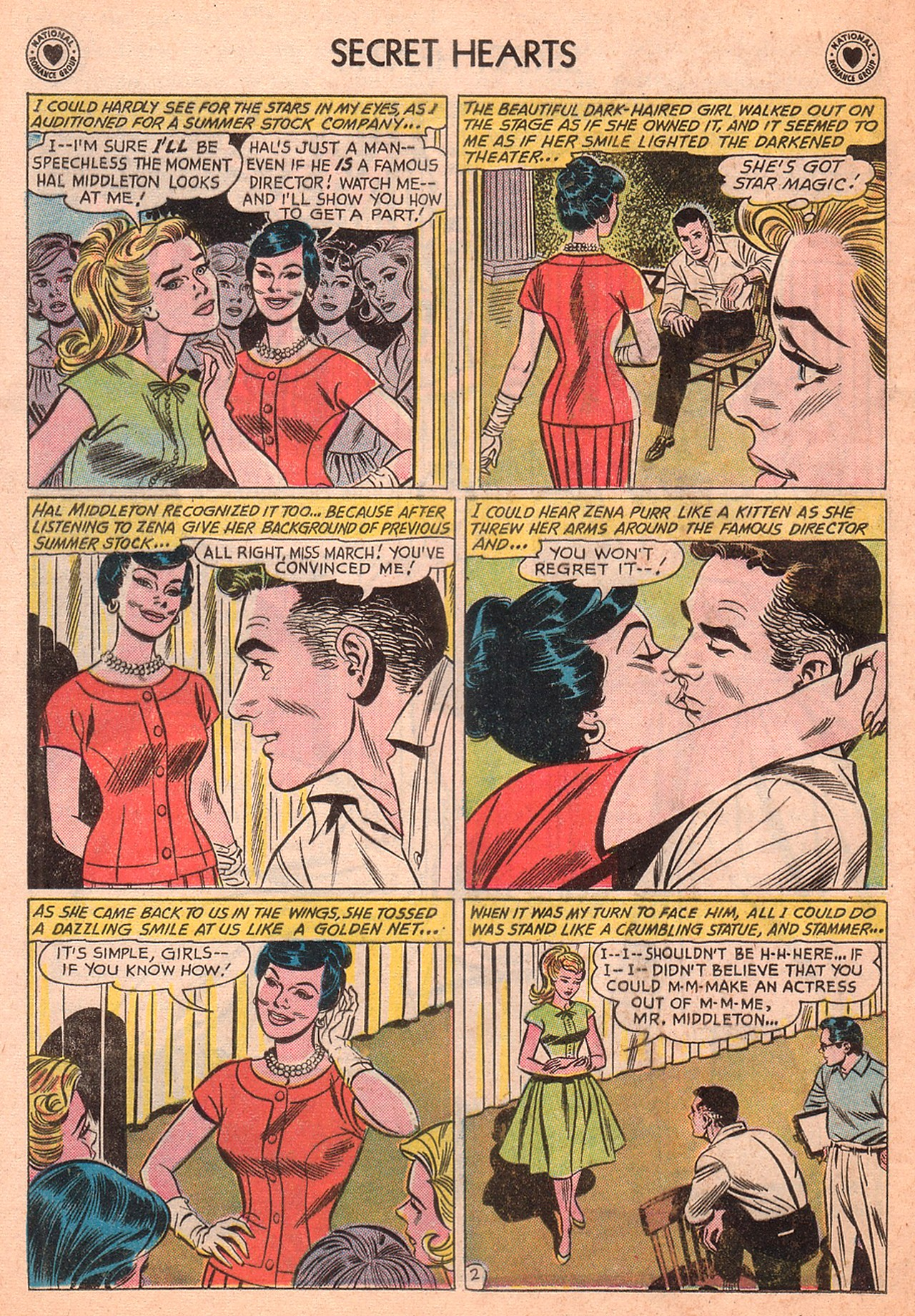 Read online Secret Hearts comic -  Issue #77 - 28