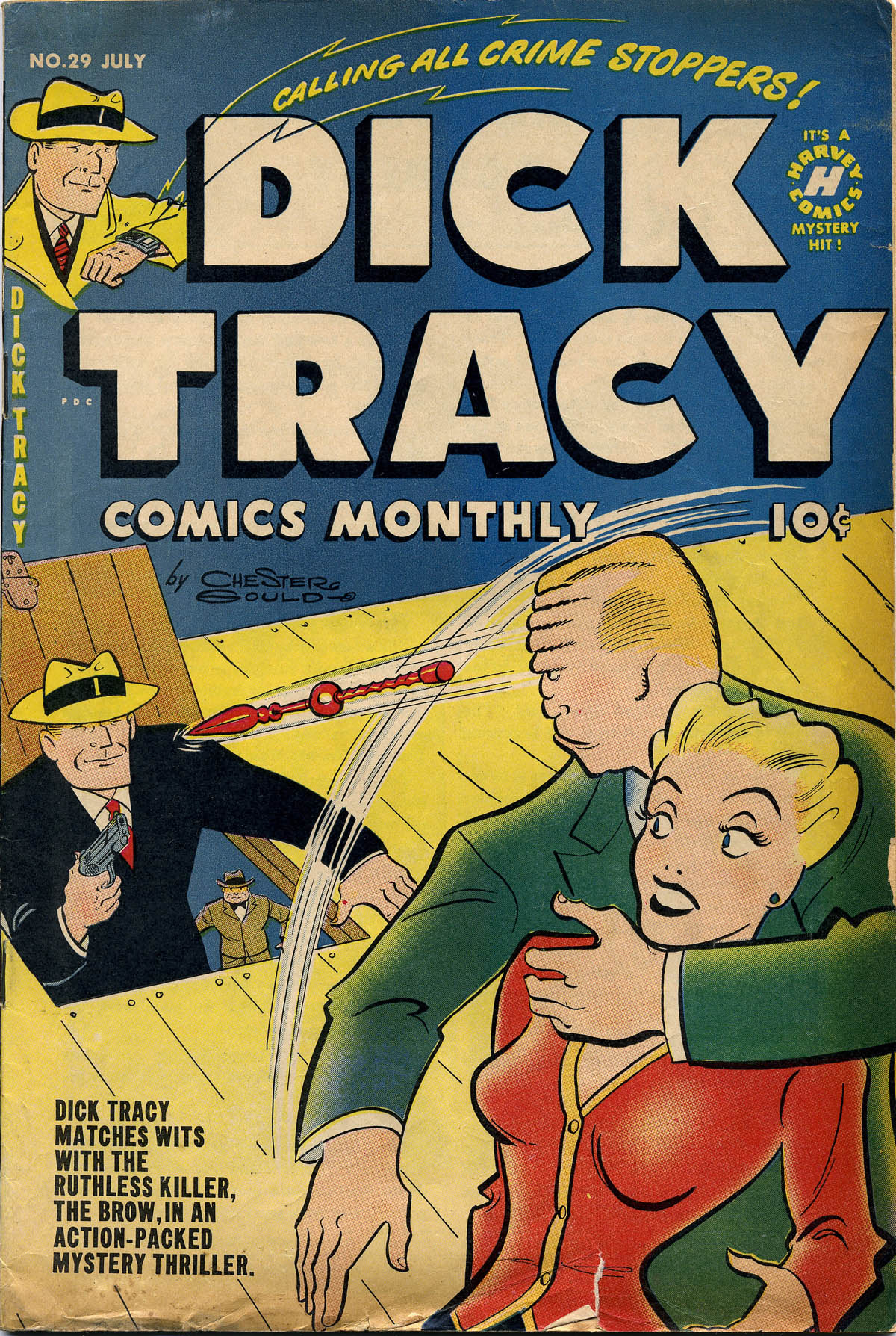 Dick Tracy (1950) 29 Page 1