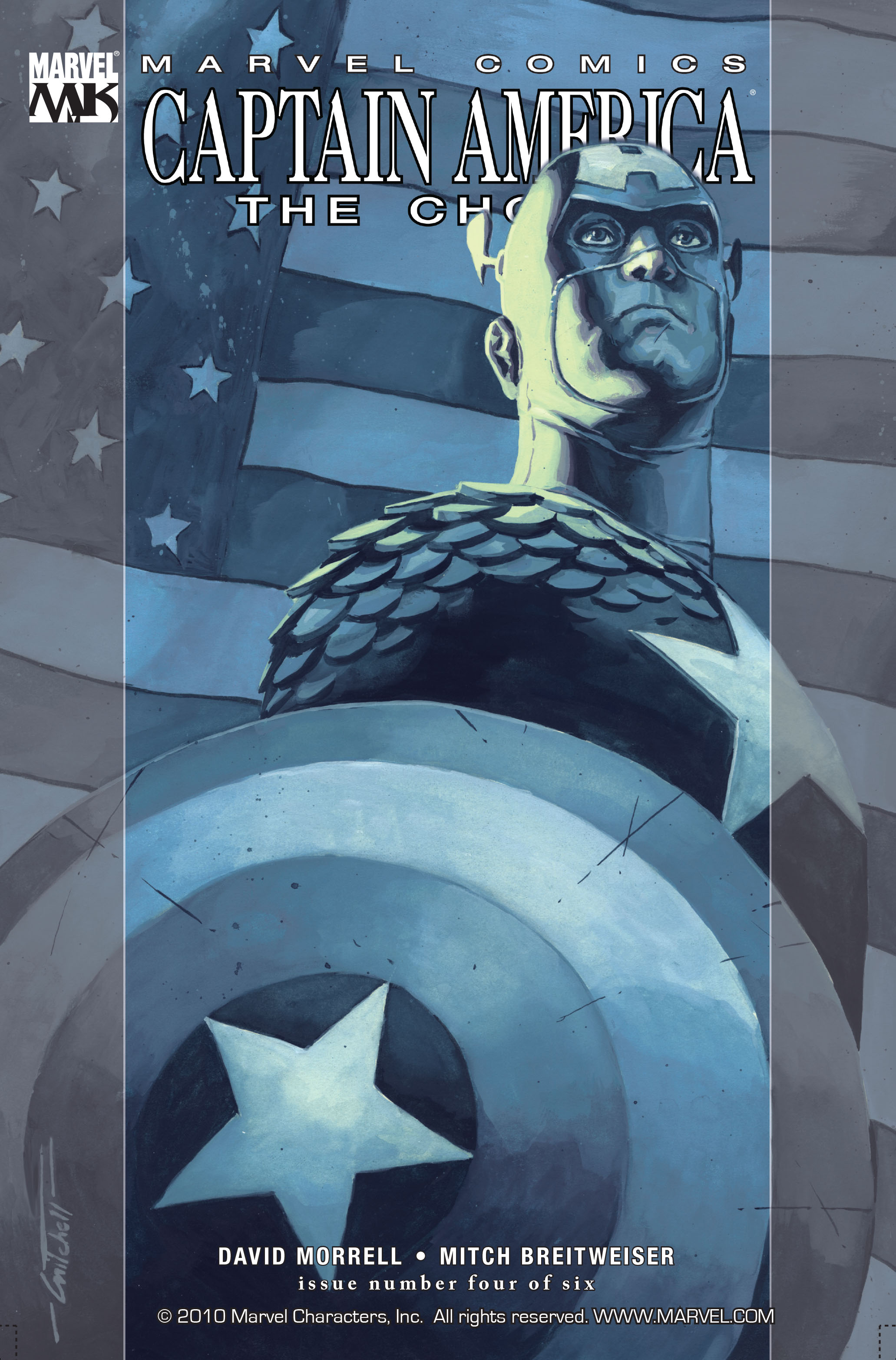 Captain America: The Chosen 4 Page 1