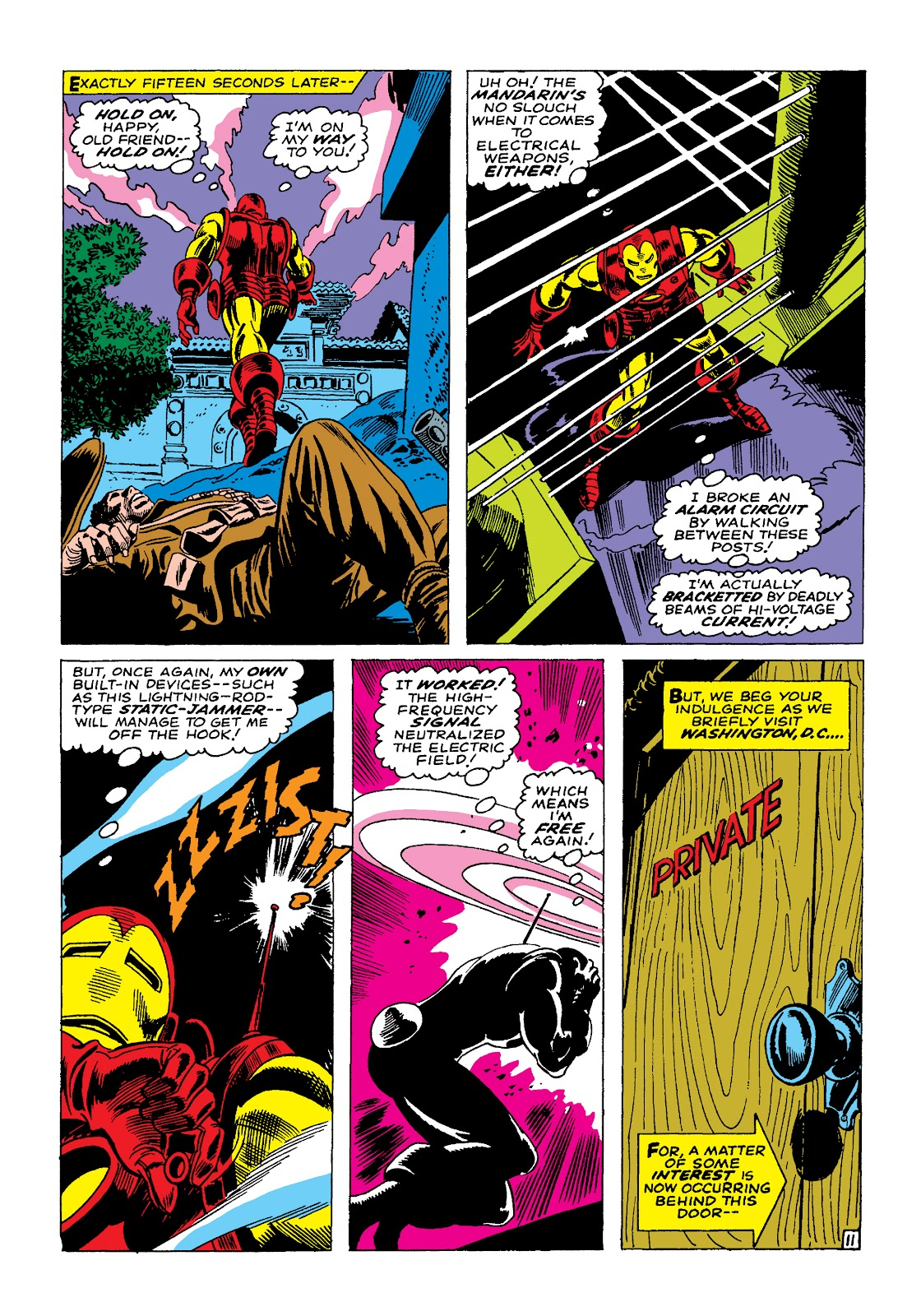 Read online Marvel Masterworks: The Invincible Iron Man comic -  Issue # TPB 4 (Part 1) - 30