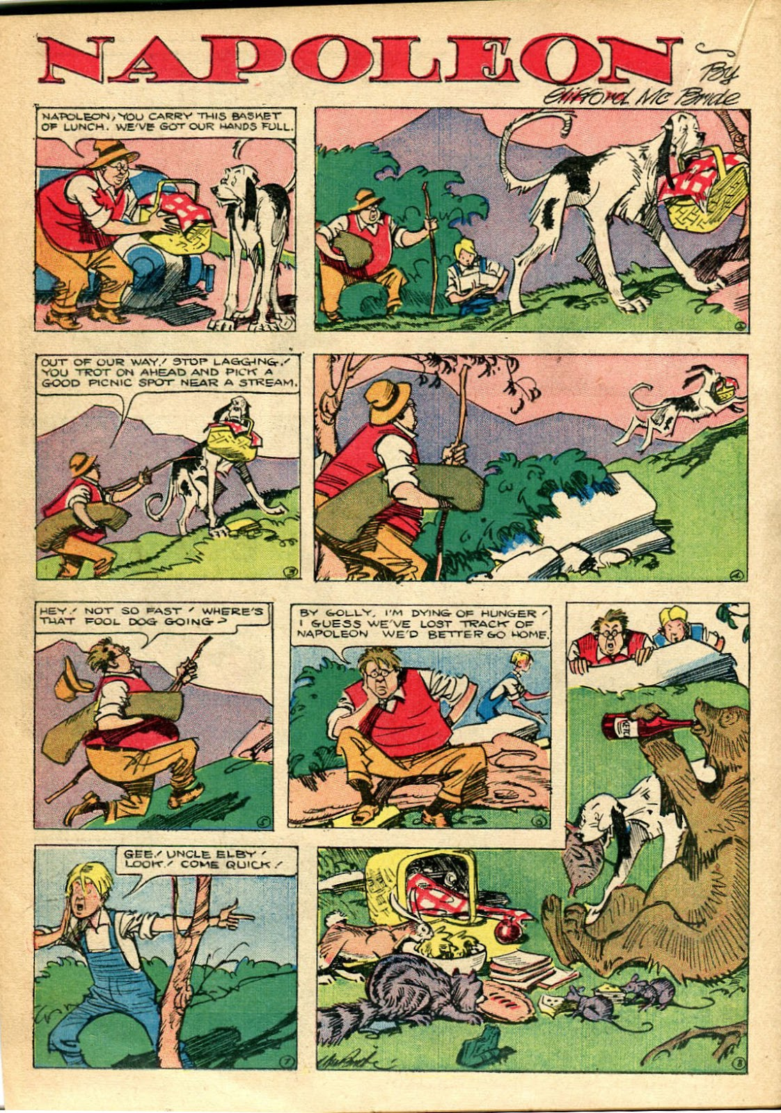 Read online Famous Funnies comic -  Issue #110 - 40