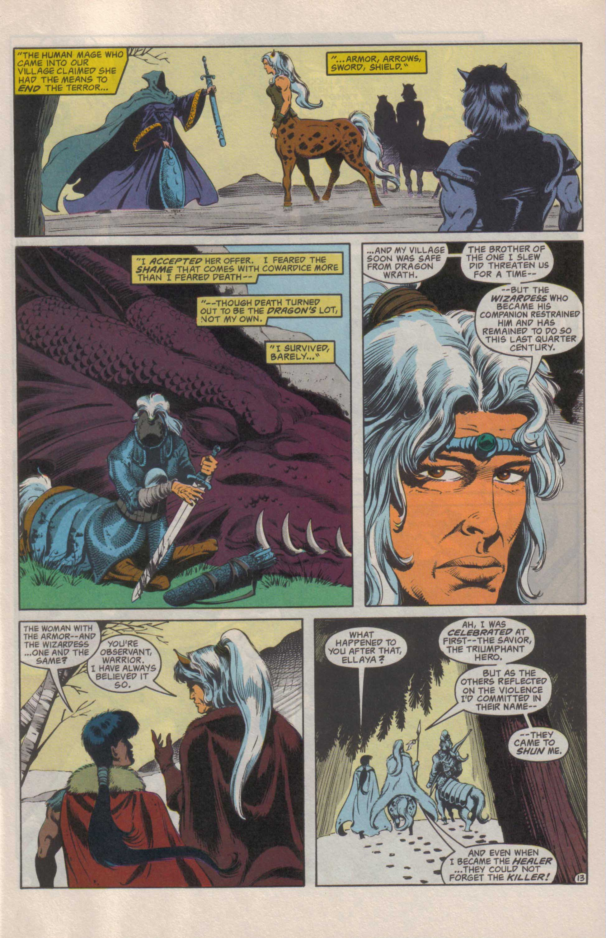 Read online Advanced Dungeons & Dragons comic -  Issue #25 - 14