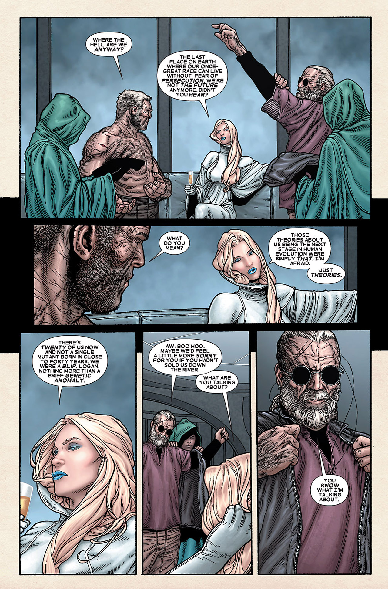 Read online Wolverine: Old Man Logan comic -  Issue # Full - 123