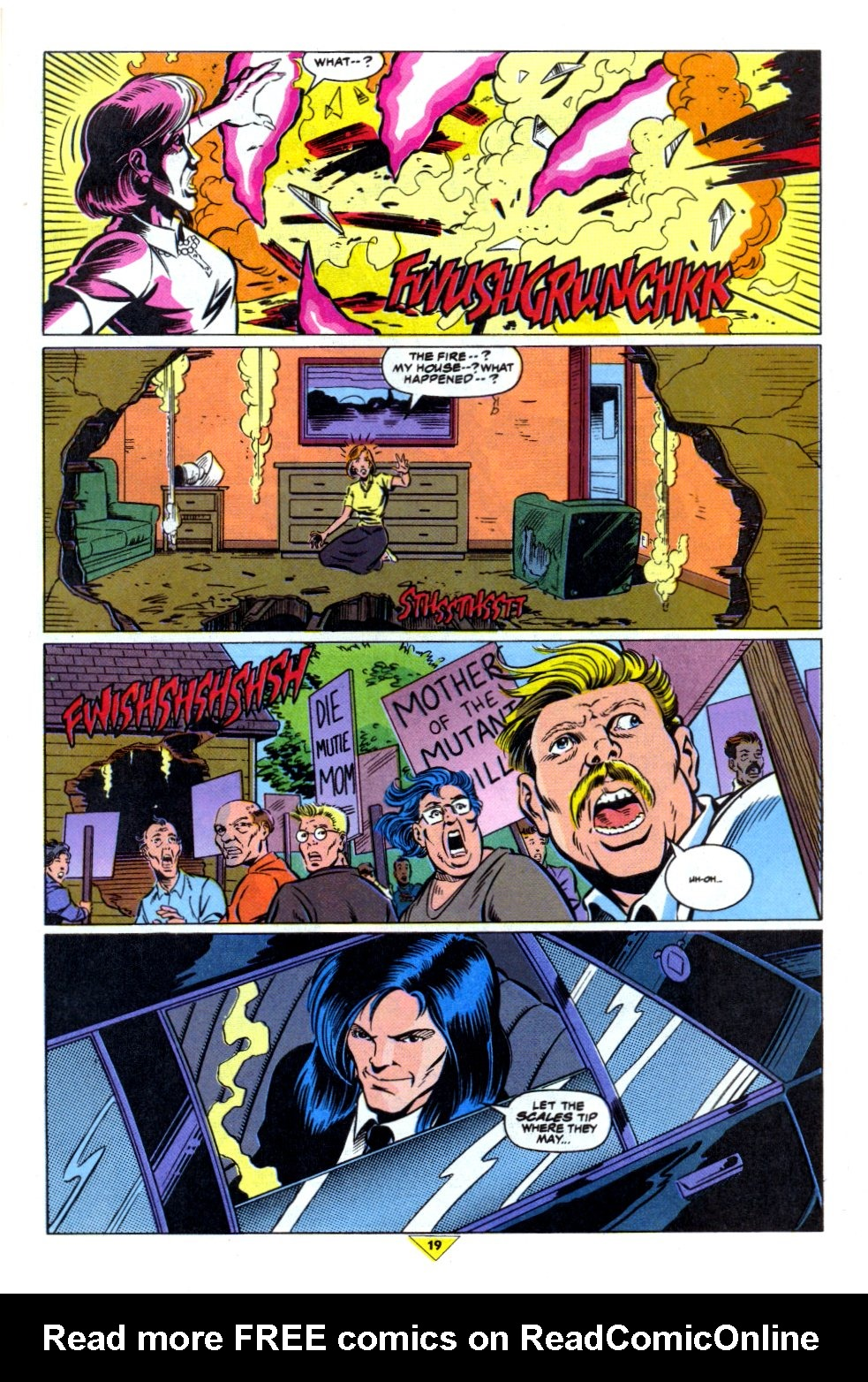 The New Warriors Issue #43 #47 - English 16
