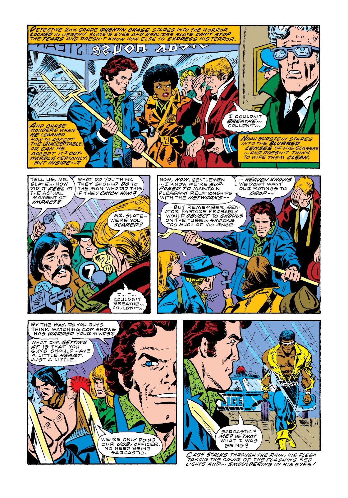 Read online Marvel Masterworks: Luke Cage, Power Man comic -  Issue # TPB 3 (Part 1) - 37