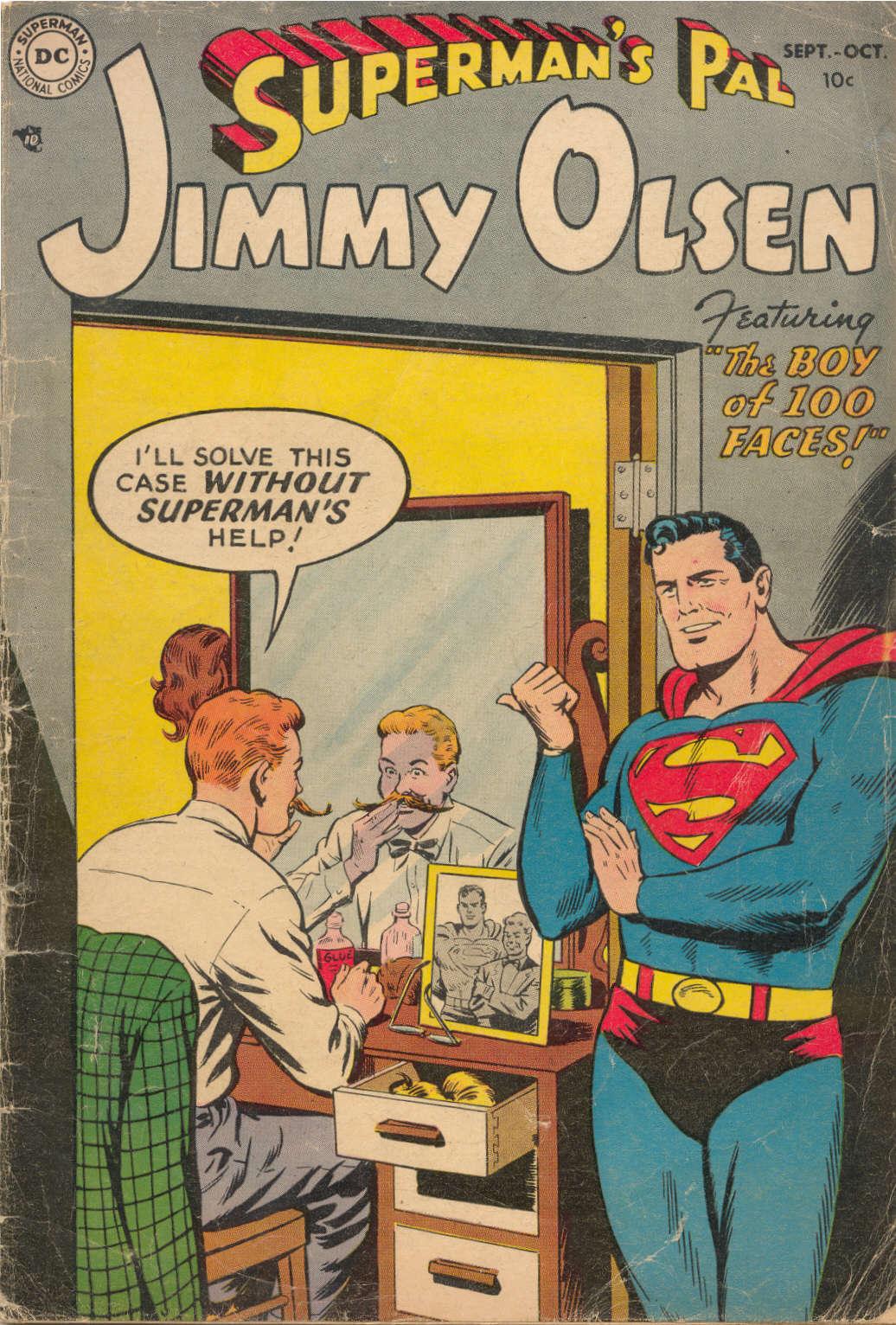 Supermans Pal Jimmy Olsen (1954) 1 Page 1