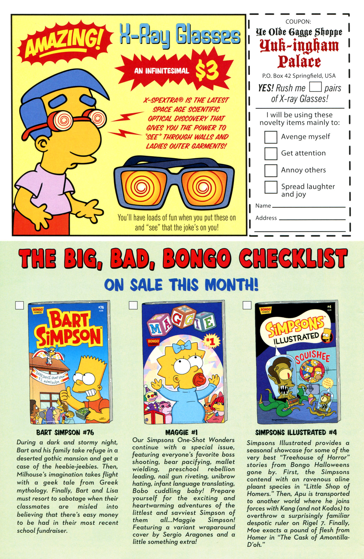 Read online Simpsons Comics comic -  Issue #195 - 30