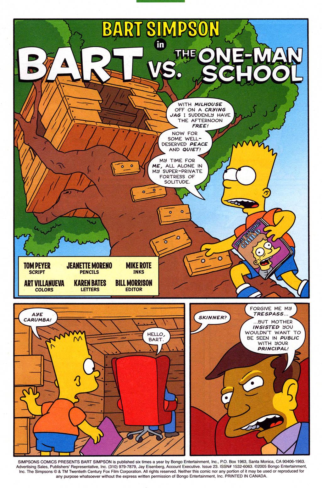 Read online Simpsons Comics Presents Bart Simpson comic -  Issue #23 - 3