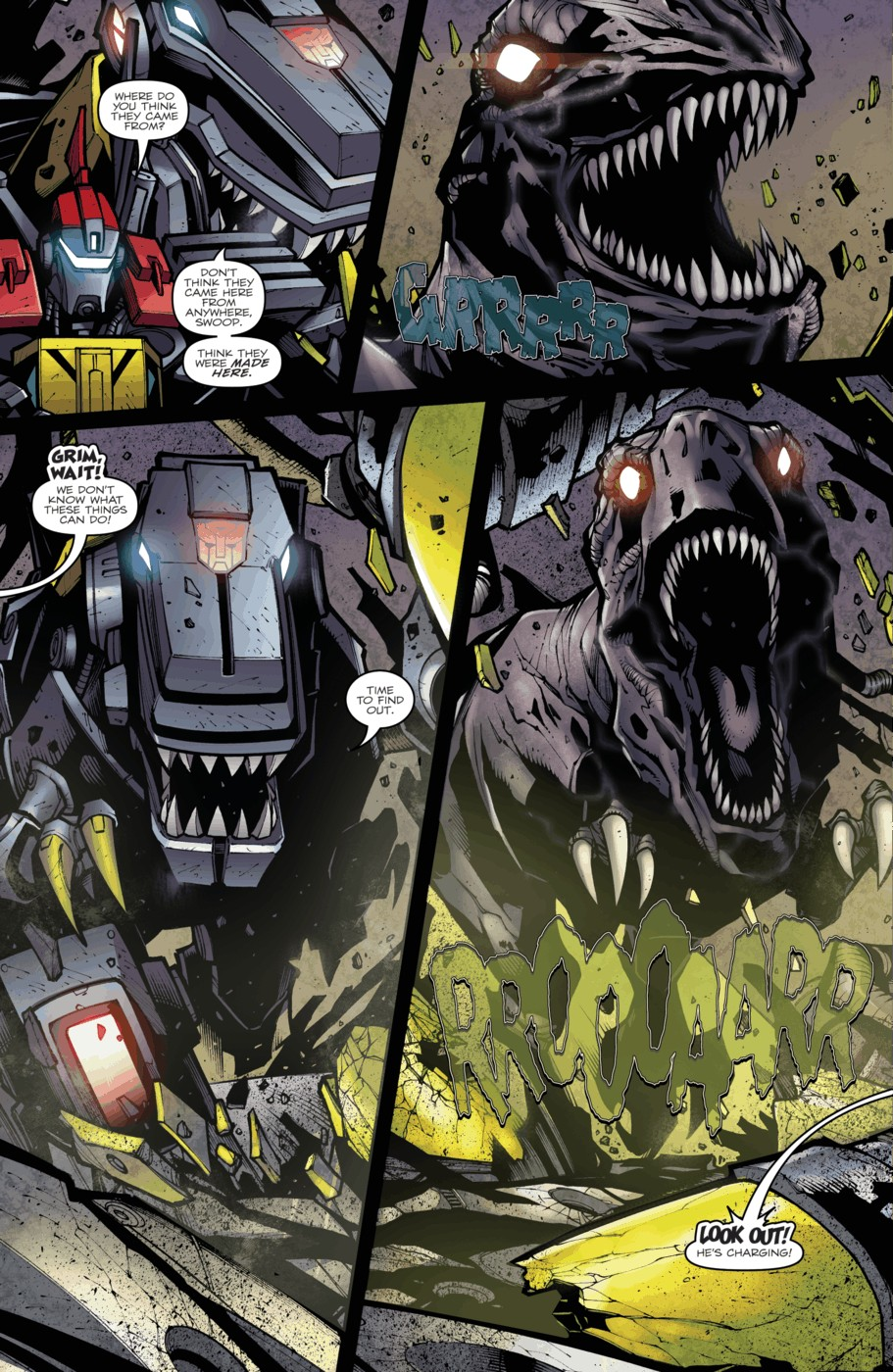 Read online Transformers Prime: Beast Hunters comic -  Issue #4 - 5