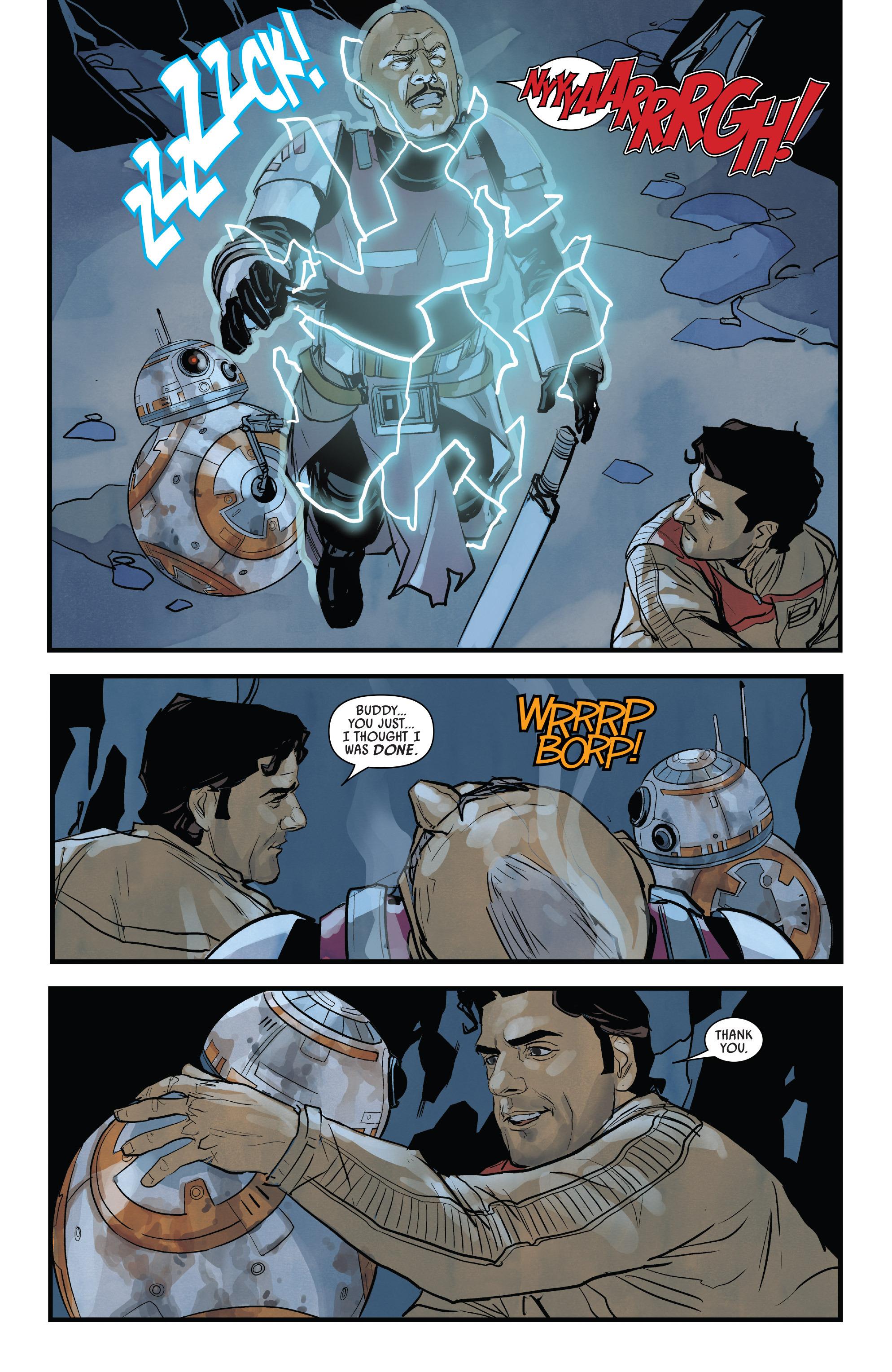 Read online Star Wars: Poe Dameron comic -  Issue #13 - 16