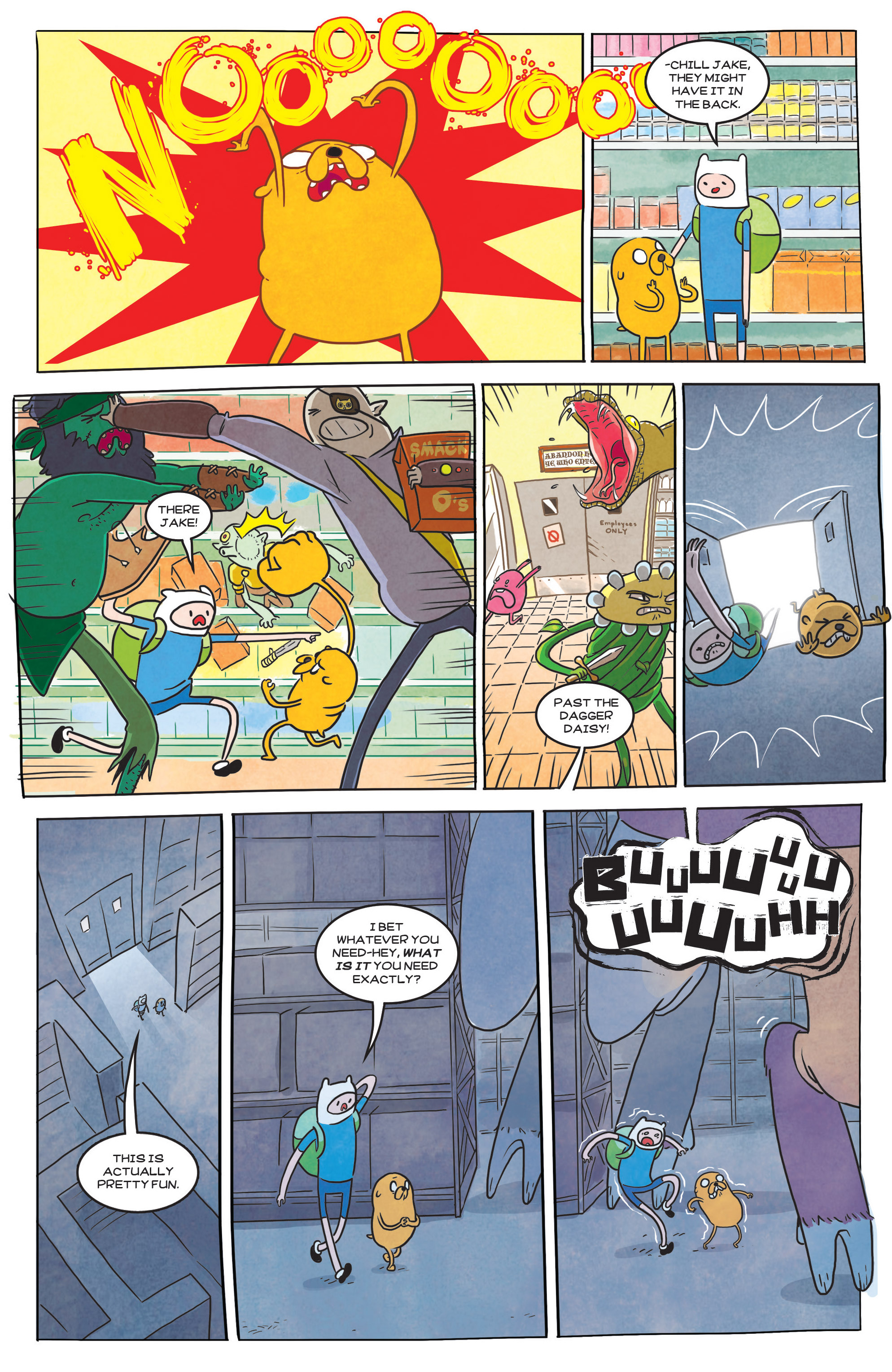 Read online Adventure Time comic -  Issue #39 - 22