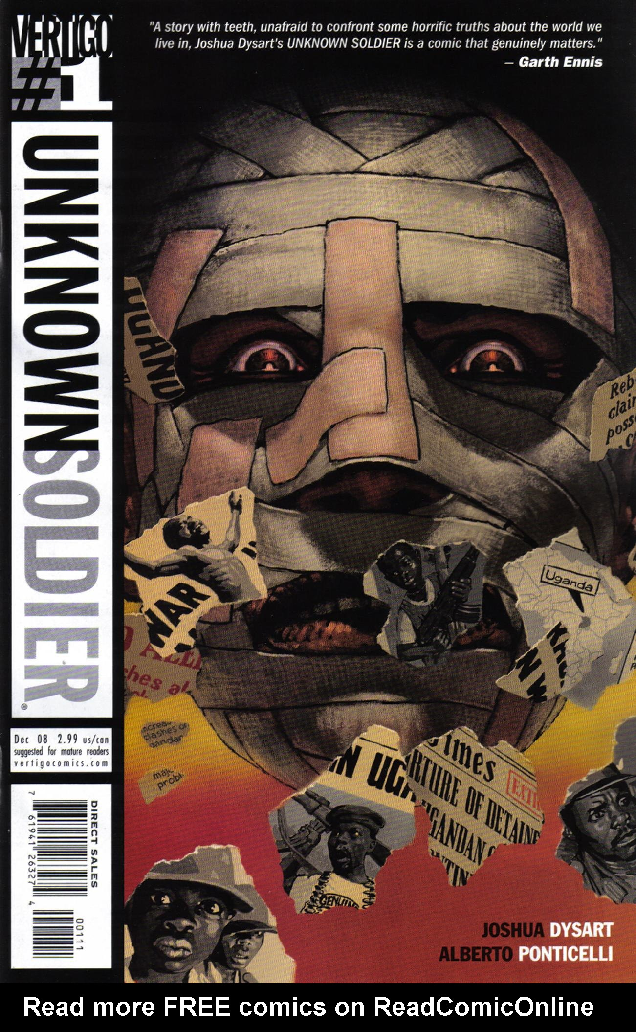 Unknown Soldier (2008) issue 1 - Page 1