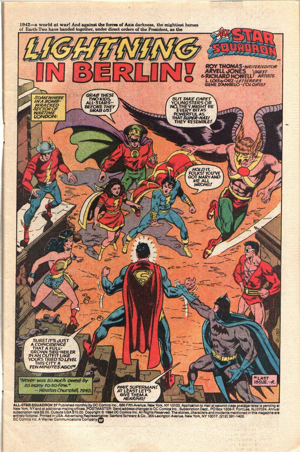Read online All-Star Squadron comic -  Issue #37 - 3